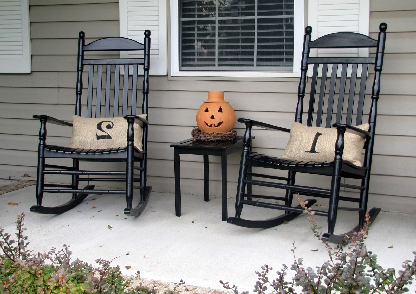 Porch Rocking Chair Black — All Modern Rocking Chairs : Porch With Regard To Well Liked Rocking Chairs For Porch (View 9 of 15)
