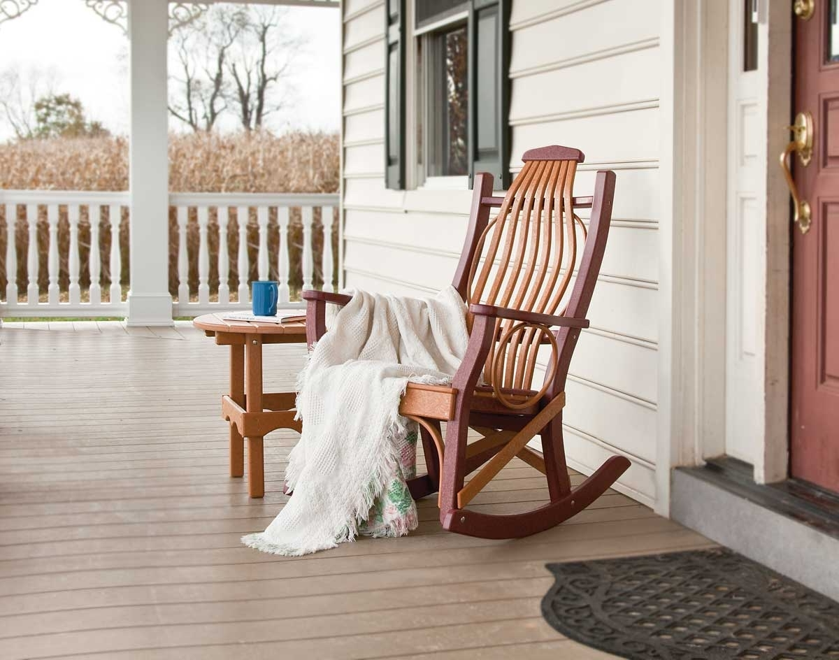 Porch Rocking Chair Ideas — Wilson Home Ideas : Vintage Porch Intended For Well Known Rocking Chairs For Porch (View 10 of 15)