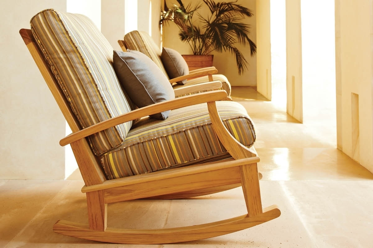 Preferred Teak Patio Rocking Chairs Pertaining To Enjoying The Right Kind Of Porch Rocking Chairs In Your Home (View 5 of 15)