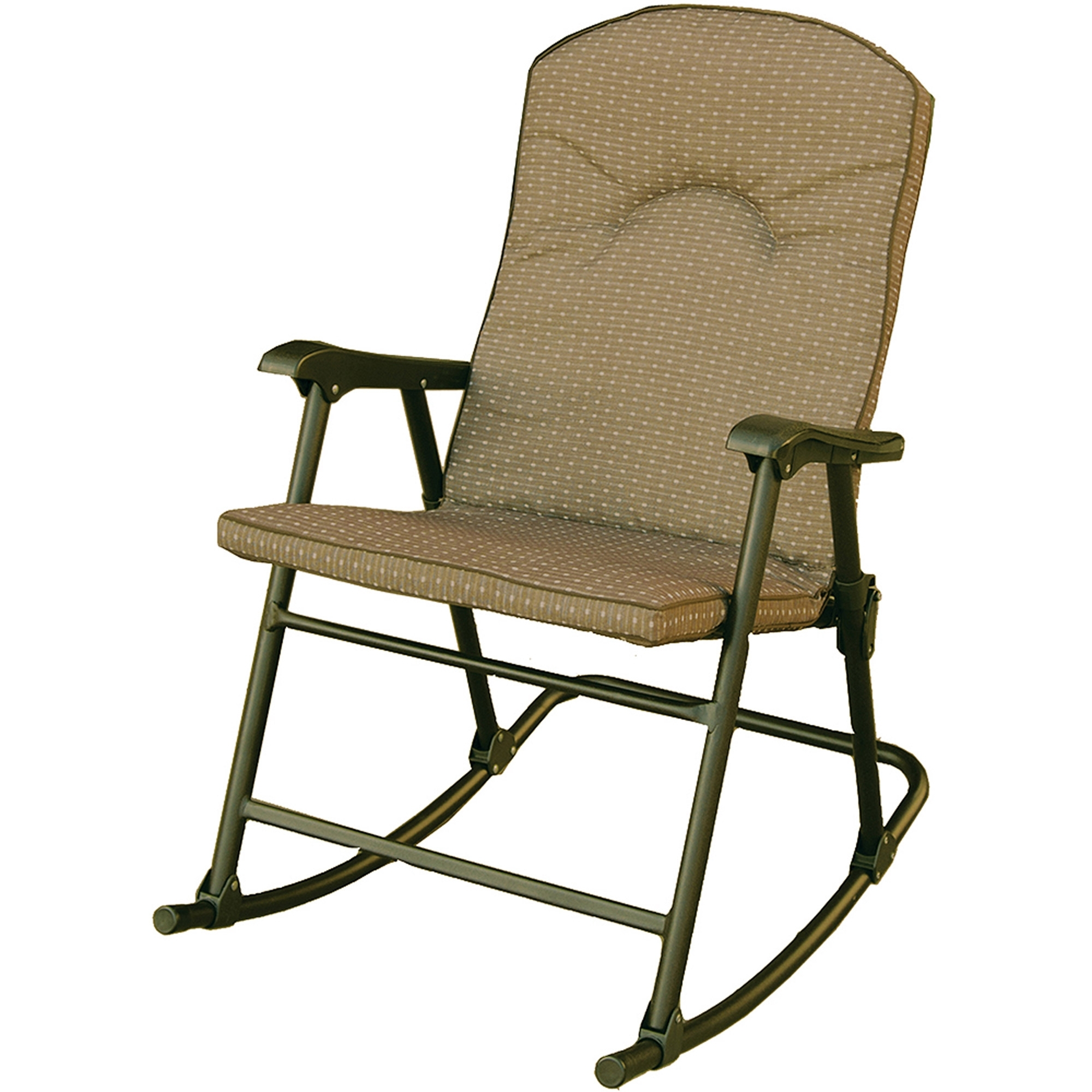 Prime Products Cambria Padded Rocker, Desert Taupe, 13 6805 Inside Most Up To Date Padded Patio Rocking Chairs (View 14 of 15)