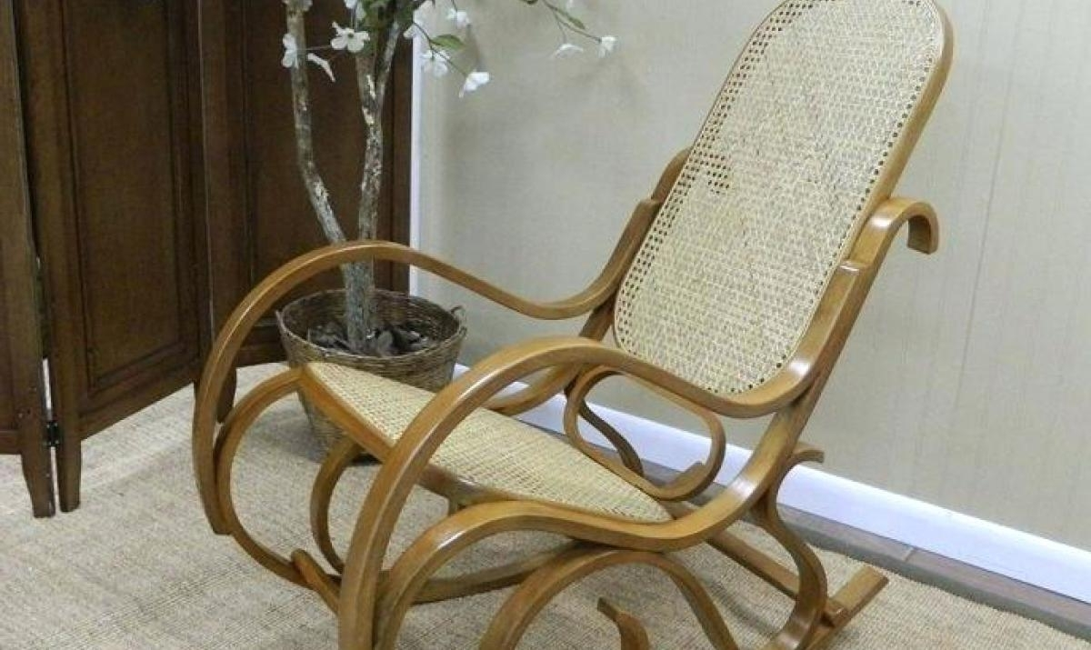 Recent Antique Wicker Rocking Chairs In Antique Wood Wicker (View 11 of 15)
