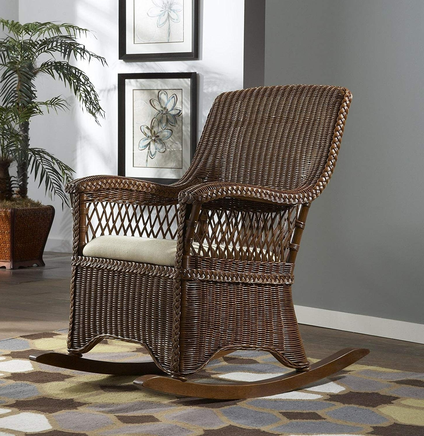 Recent Indoor Wicker Rocking Chair – Torino2017 Regarding Indoor Wicker Rocking Chairs (View 14 of 15)