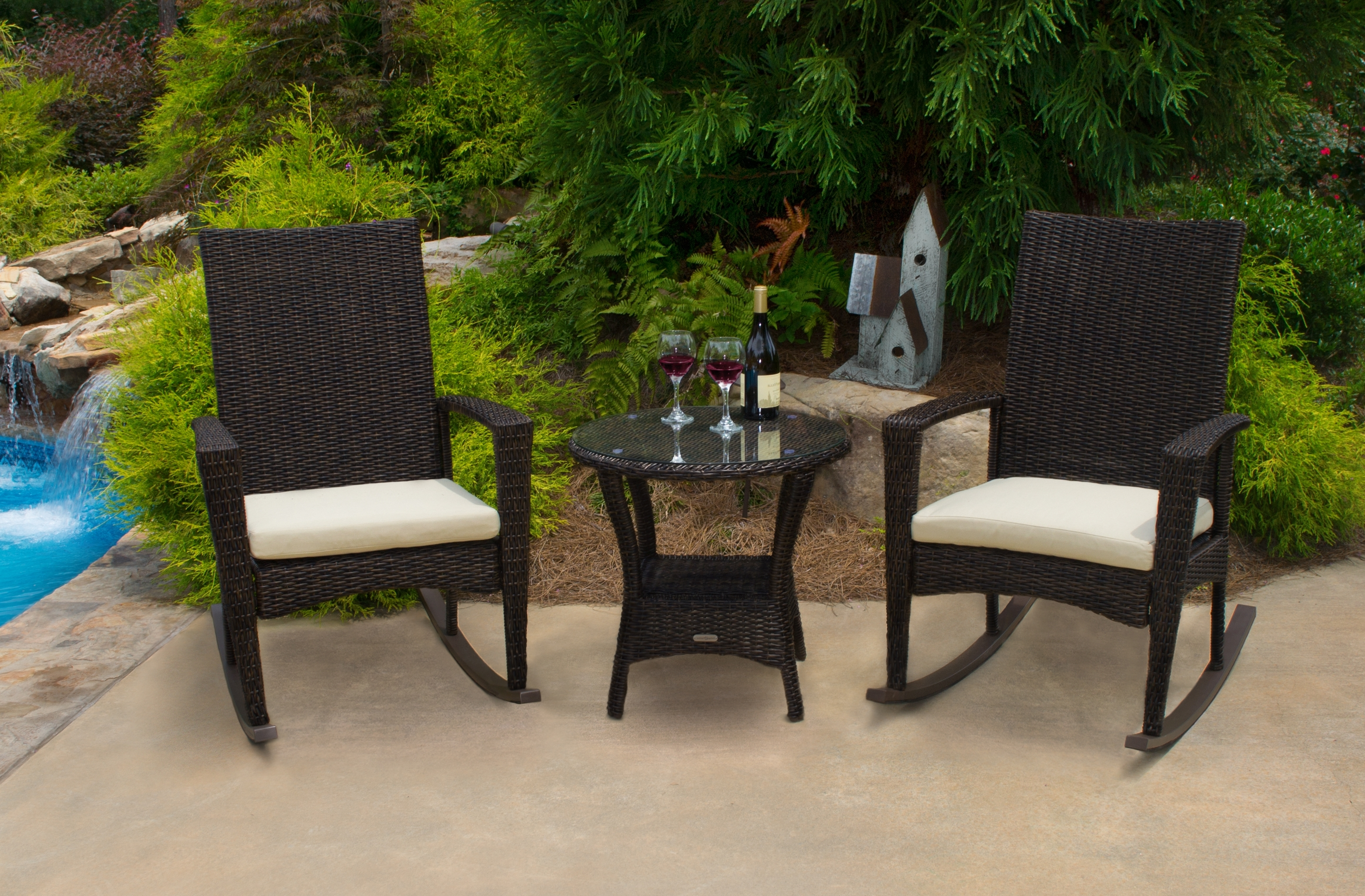 Recent Wicker Rocking Chairs Sets With Rocking Chairs – Tortuga Outdoor Of Georgia – Alpharetta (View 10 of 15)