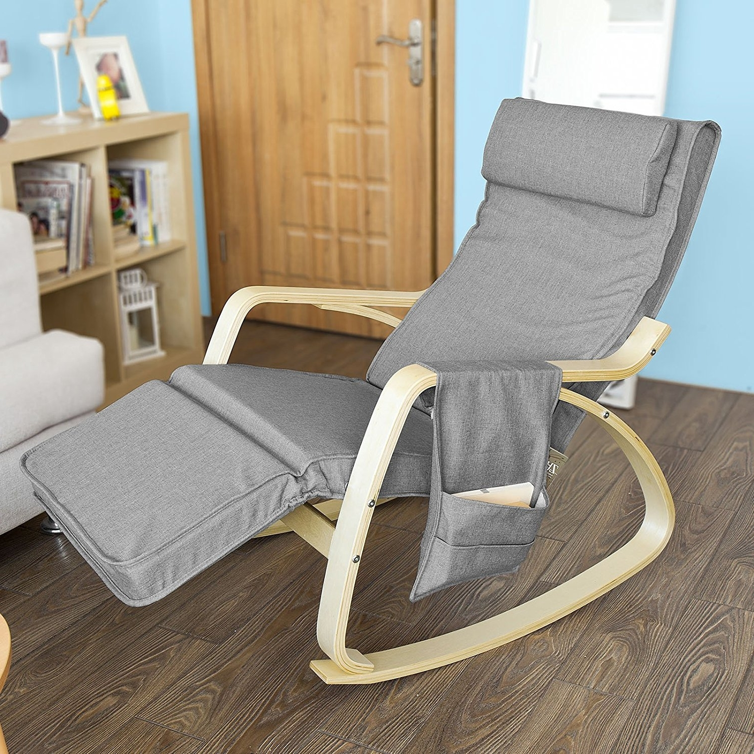 Rock Away Back Pain Using Rocking Chairs/inversiontableplus Intended For Popular Rocking Chairs With Footrest (View 10 of 15)