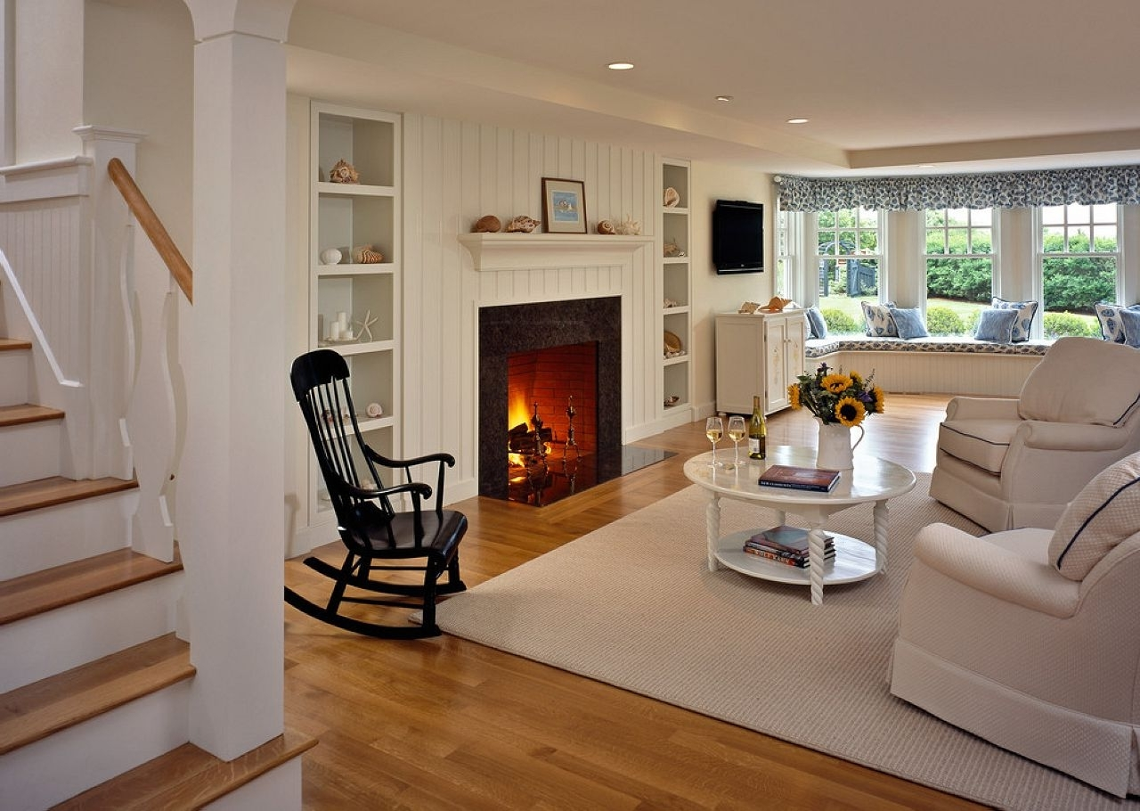 Rocking Chair At Modern Interior Regarding Widely Used Rocking Chairs For Living Room (View 11 of 15)
