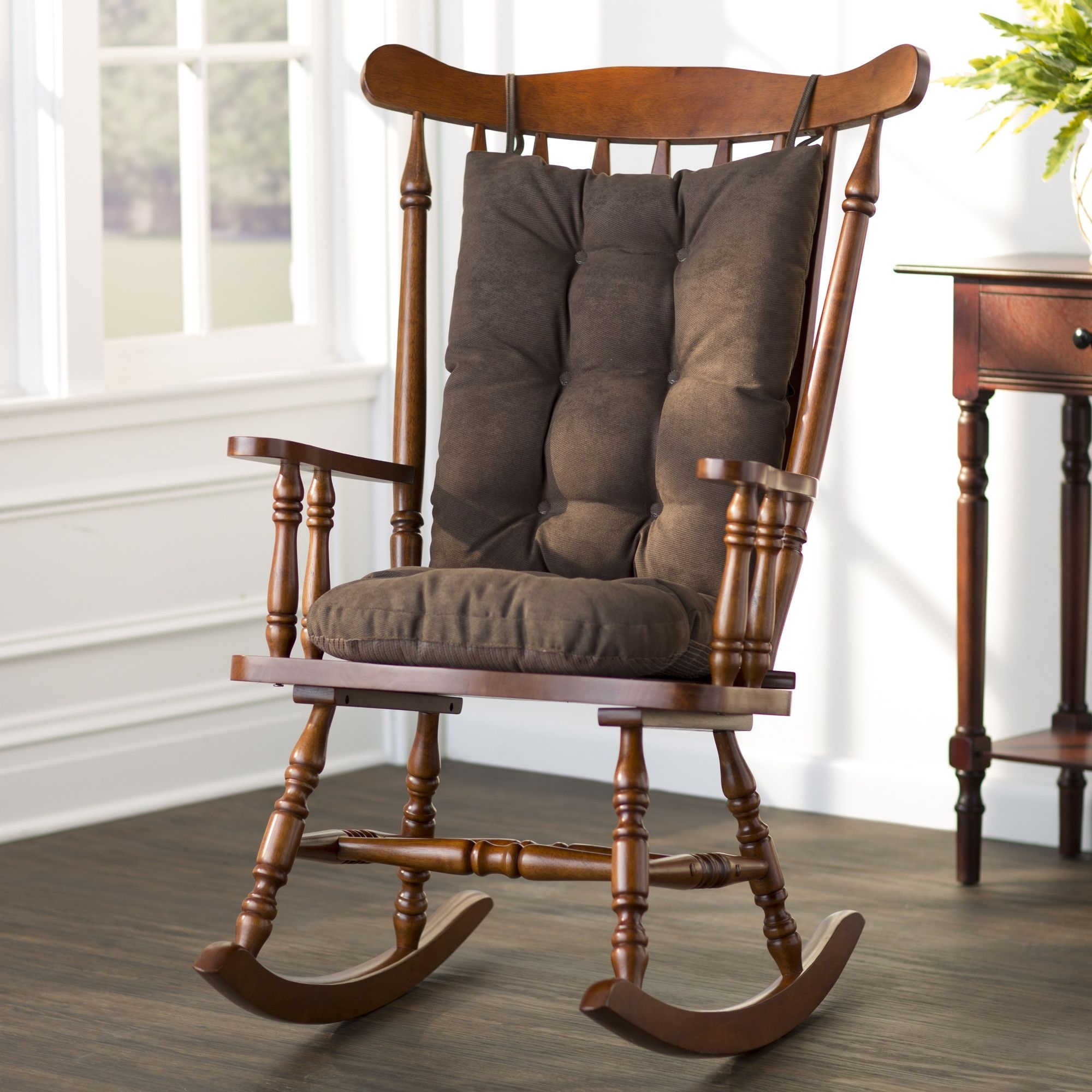 Rocking Chair Cushions Regarding Rocking Chairs At Wayfair (View 4 of 15)
