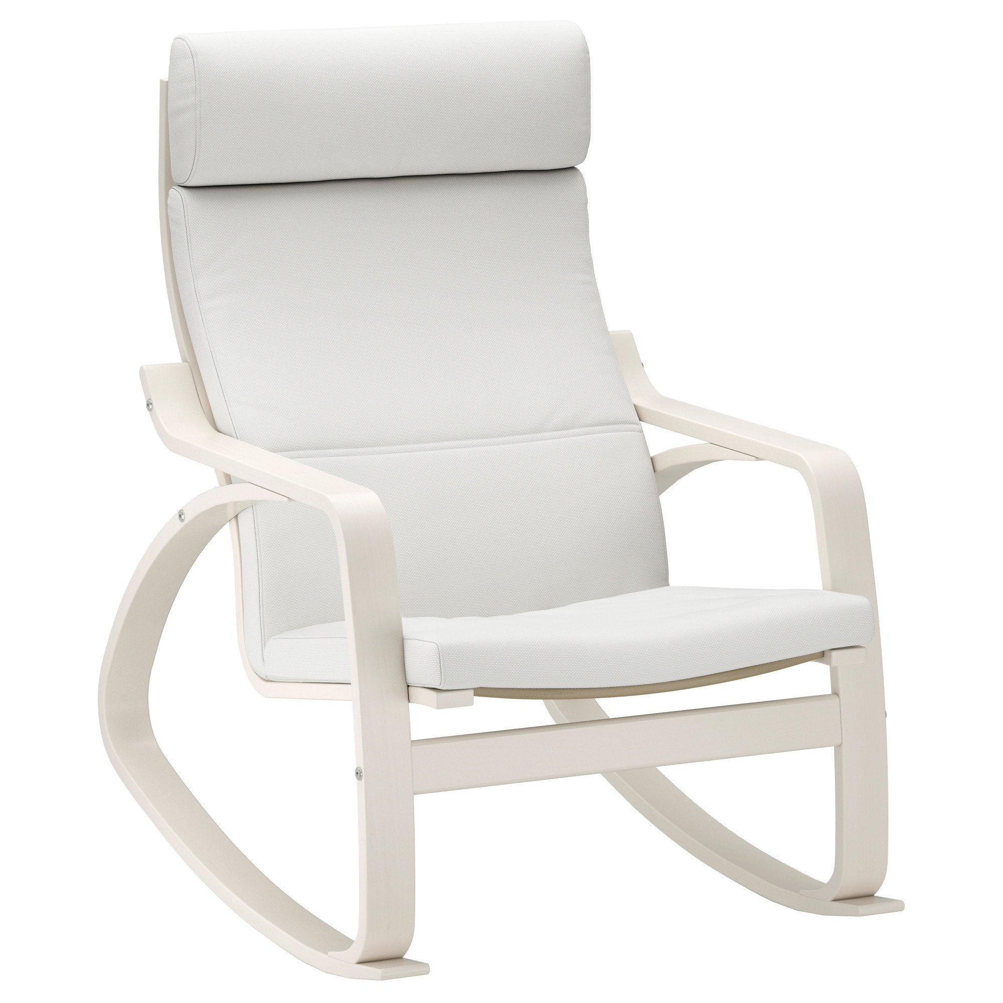 Rocking Chair Parts Modern Glider Rocker White Rocking Chair With Most Up To Date Rocking Chairs At Ikea (View 8 of 15)