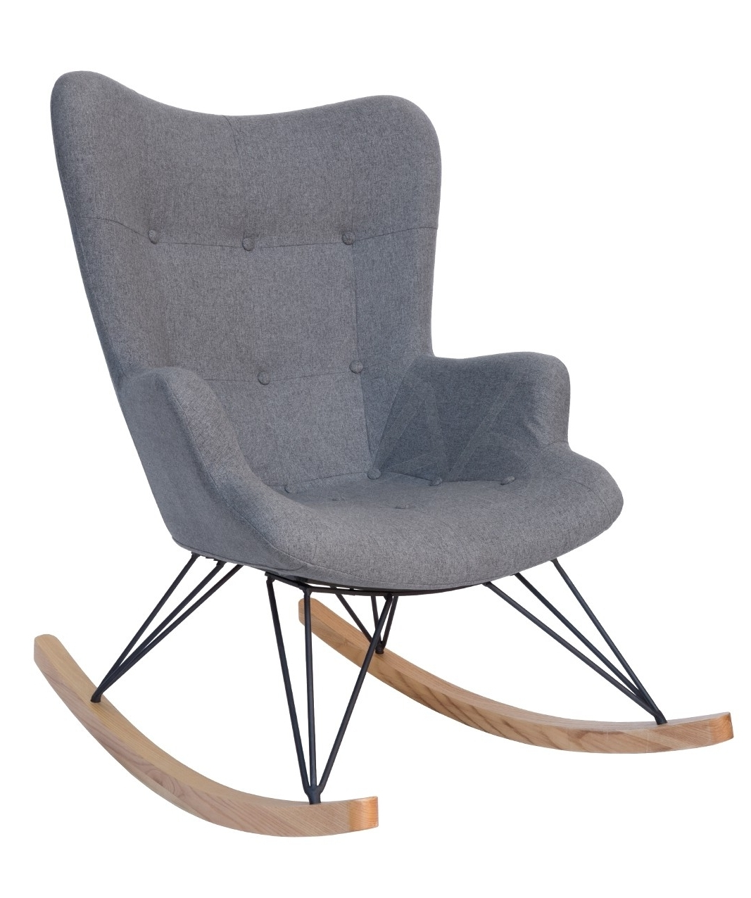 Rocking Chairs Adelaide Inside 2018 Replica Grant Featherston Rocking Chair Grey Adelaide Dining Chairs (View 3 of 15)