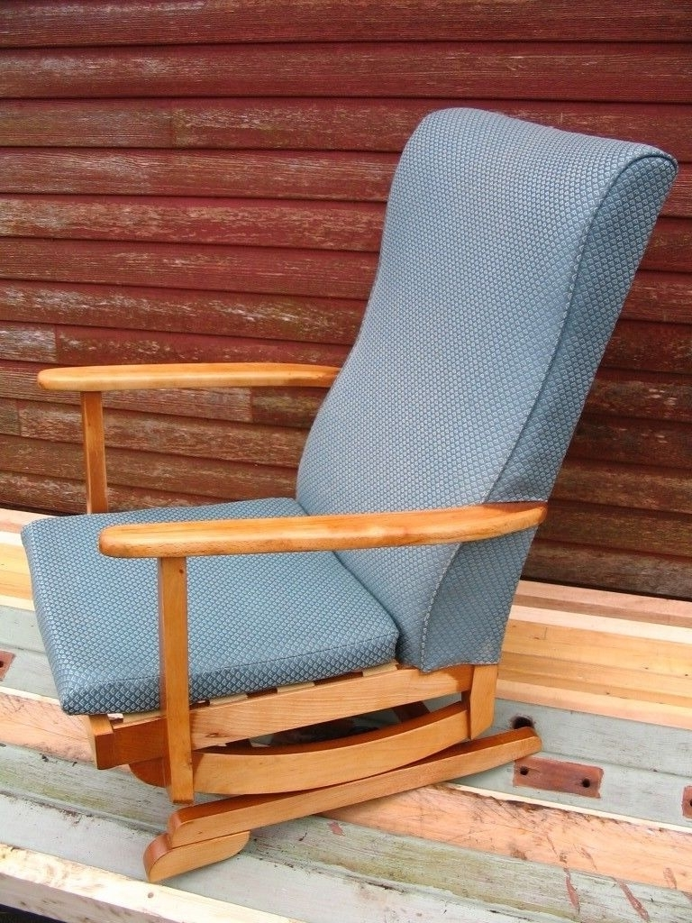 Rocking Chairs At Gumtree Intended For Best And Newest Platform Rocking Armchair, Spring Rocker Chair, Nursing Chair Mid (View 13 of 15)
