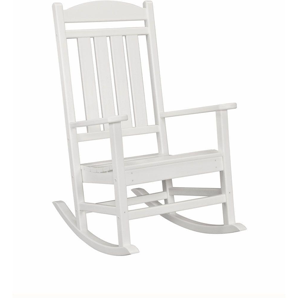 Rocking Chairs At Home Depot With Well Known Rocking Chairs – Patio Chairs – The Home Depot (View 8 of 15)