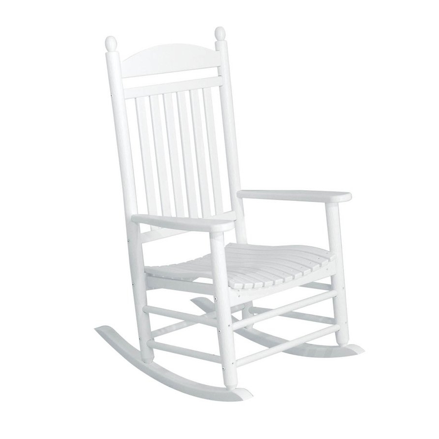 Rocking Chairs At Lowes Pertaining To Most Popular Livingroom : Best Lowes Black Rocking Chairs At Outdoor For Chair (View 6 of 15)