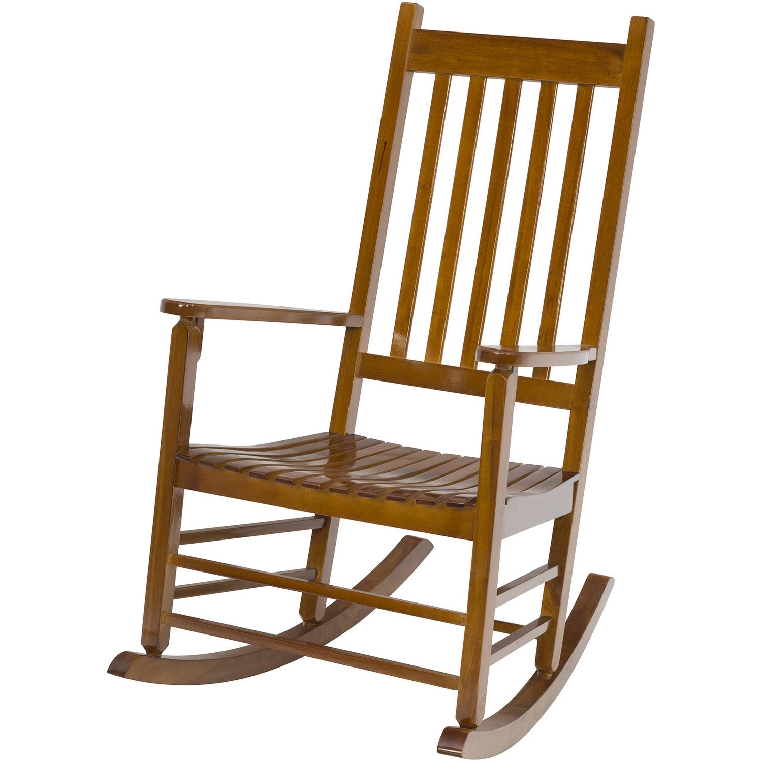 Rocking Chairs At Walmart Throughout Favorite Jack Post Knollwood Rocker With Wicker In Natural – Walmart (View 11 of 15)