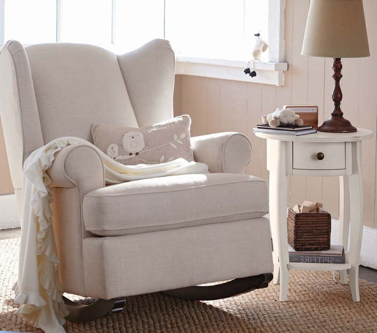 Rocking Chairs For Nursing Inside Well Known Baby Nursery: Nice Rocking Chair For Baby Nursery Ideas Babies R Us (View 11 of 15)