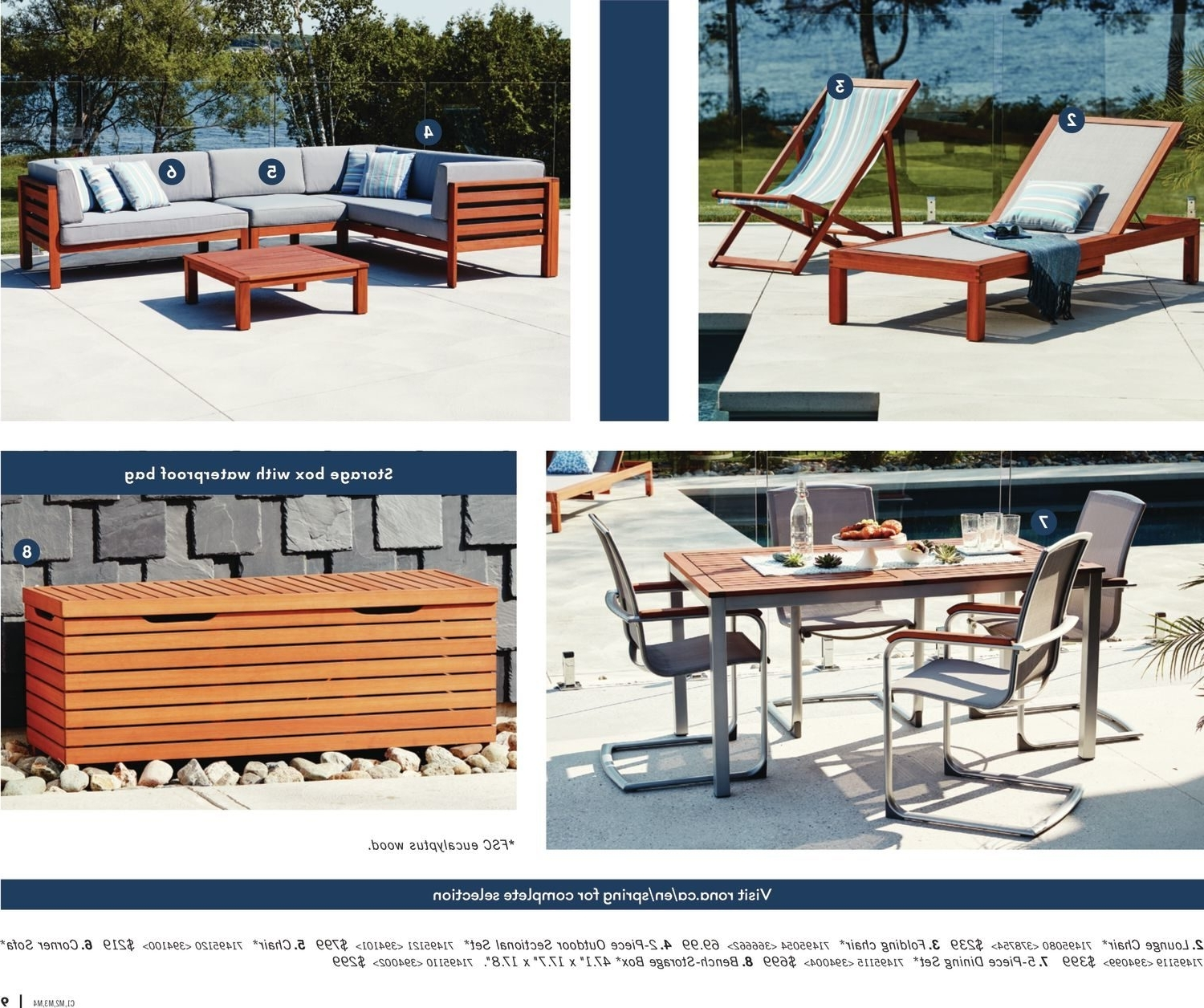 Rona Weekly Flyer – Enjoy Your Backyard – Mar 22 – Apr 25 Intended For Most Recent Rona Patio Rocking Chairs (View 3 of 15)