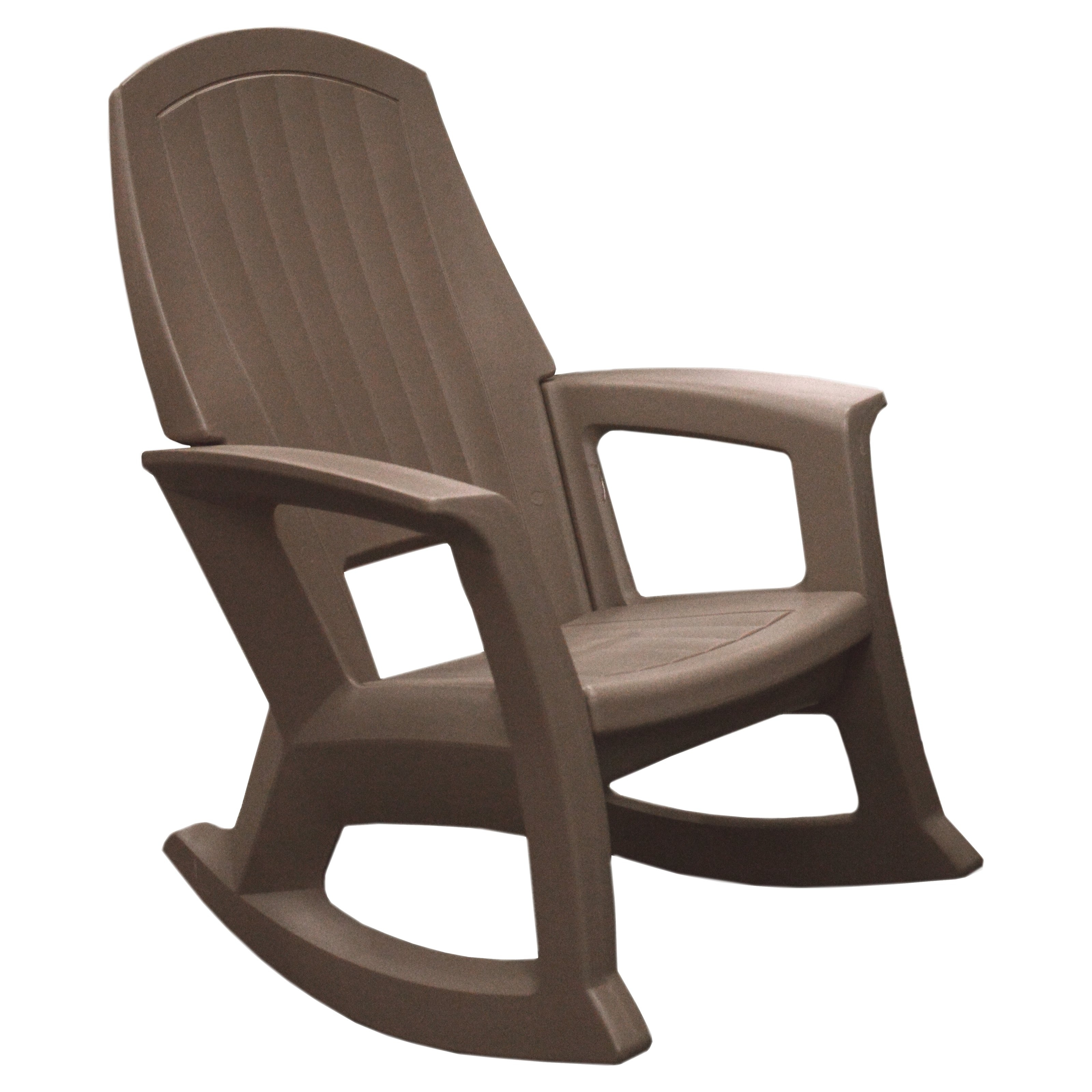Stackable Patio Rocking Chairs Intended For Current Semco Recycled Plastic Rocking Chair Options Taupe Ikea White Glider (View 13 of 15)
