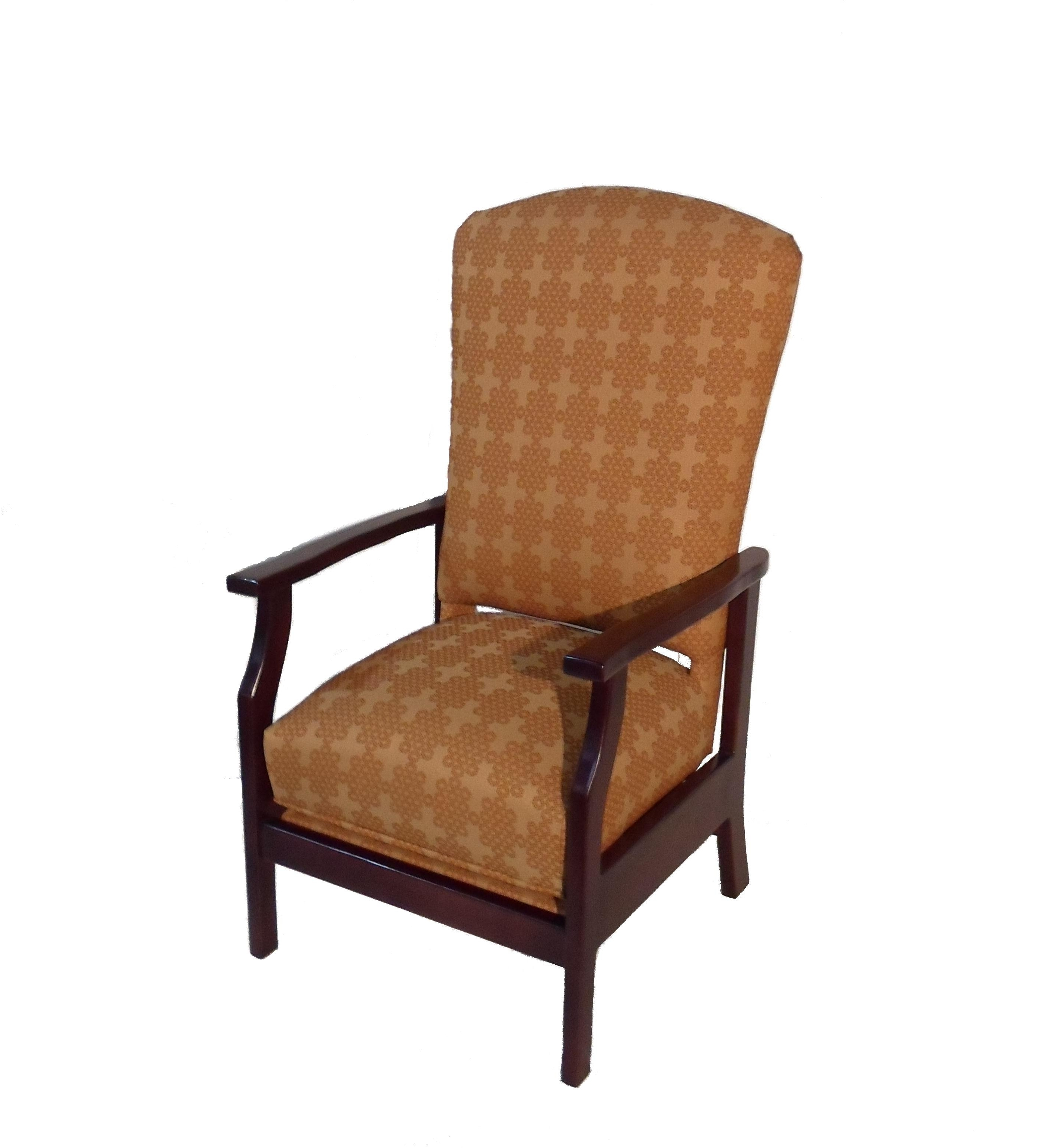 Stationary Rocking Chair With Lumbar Support – Twin Rivers Furnishings For Preferred Rocking Chairs With Lumbar Support (View 5 of 15)