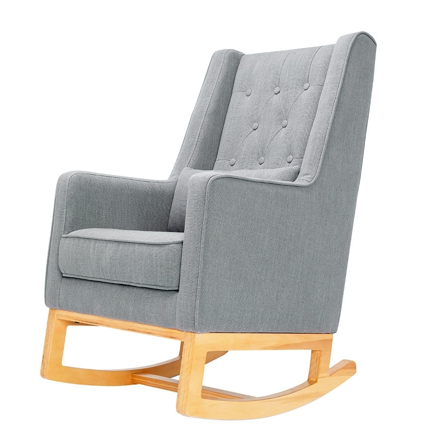 Trendy Rocking Chairs With Ottoman Regarding Il Tutto Casper Rocking Chair & Ottoman – Babyroad (View 13 of 15)