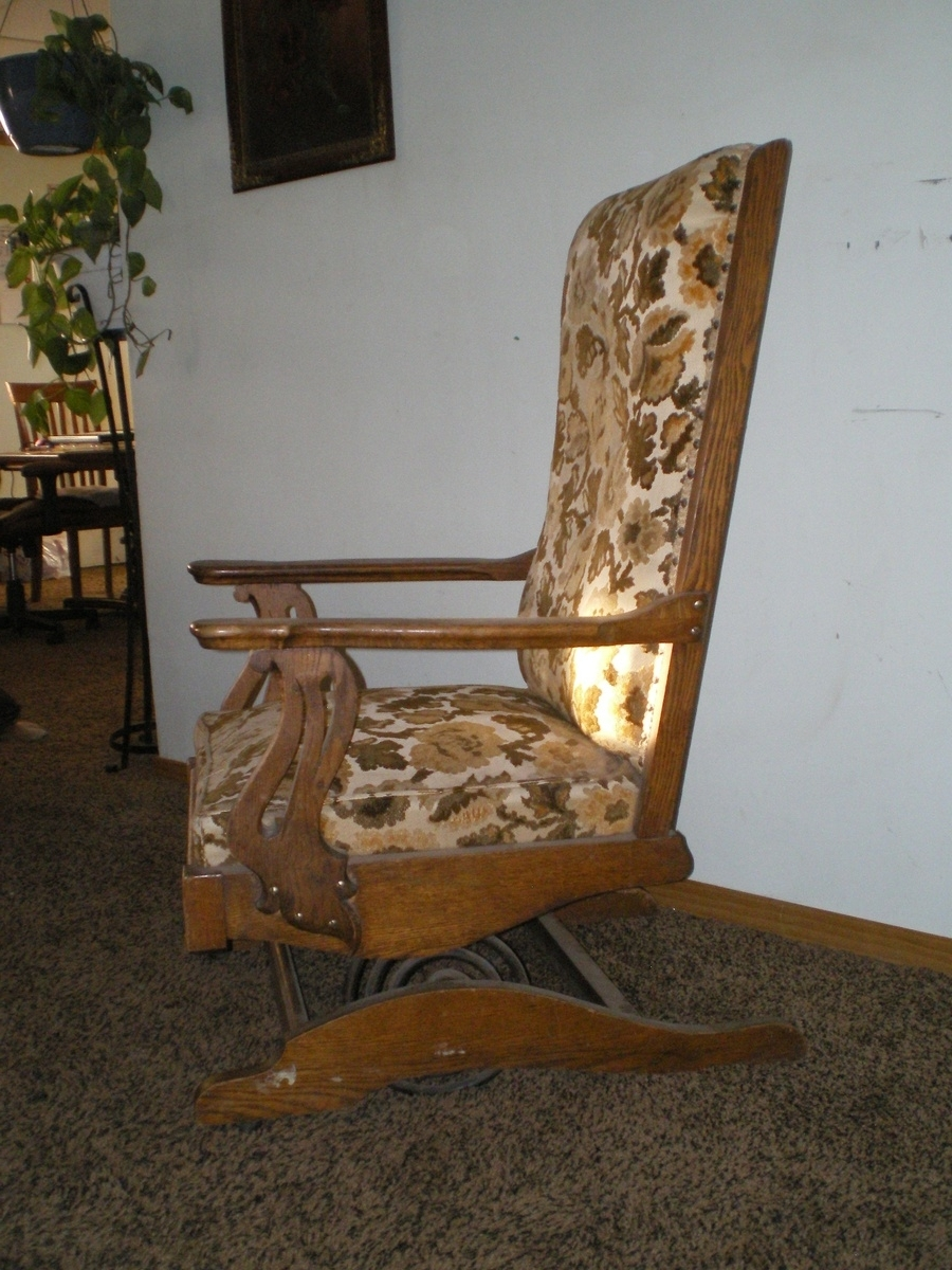 Trendy Rocking Chairs With Springs Throughout A.h (View 4 of 15)