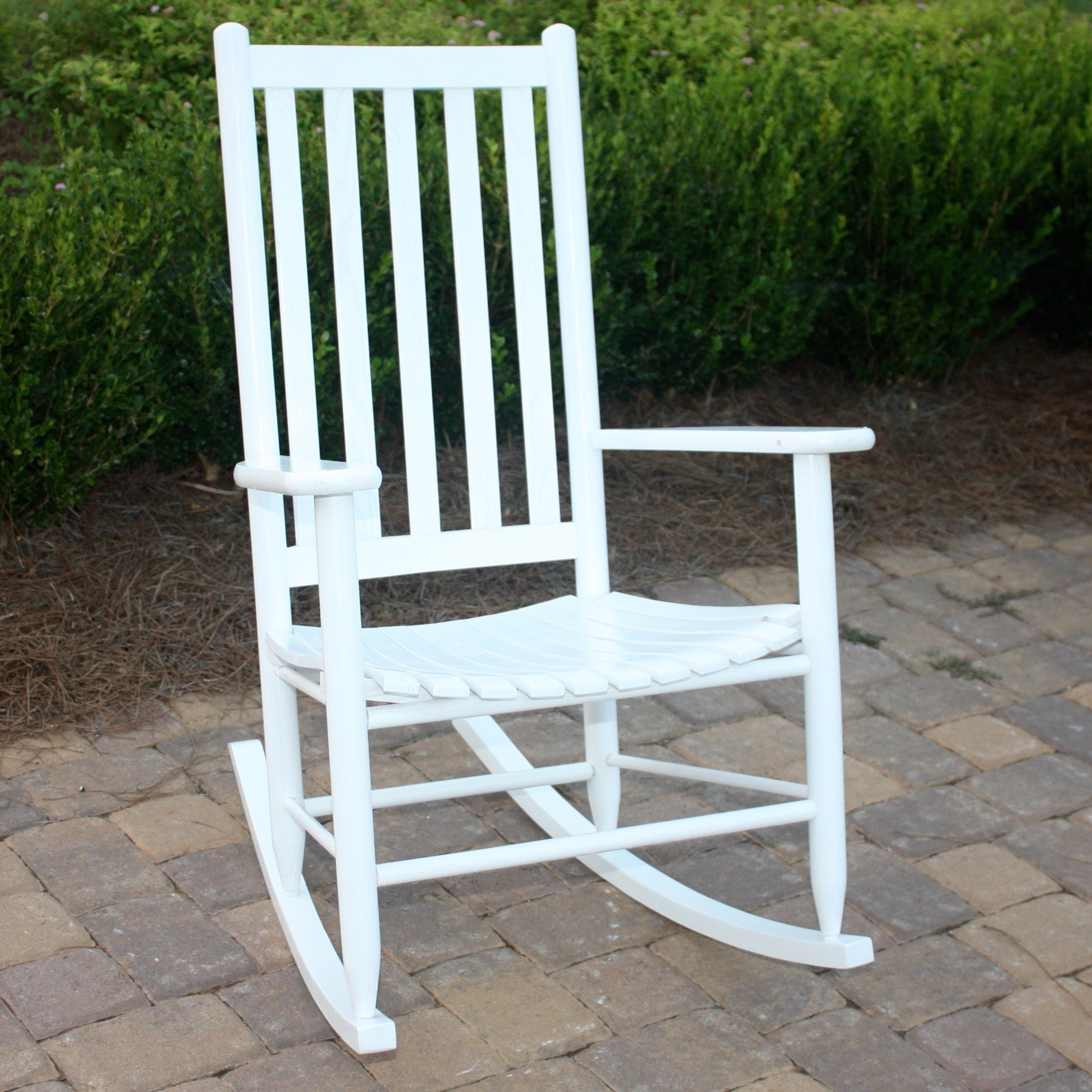 Unique Outdoor Rocking Chairs Within Well Known Dixie Seating Company Outdoor/indoor Georgetown Slat Rocking Chair (Gallery 5 of 15)