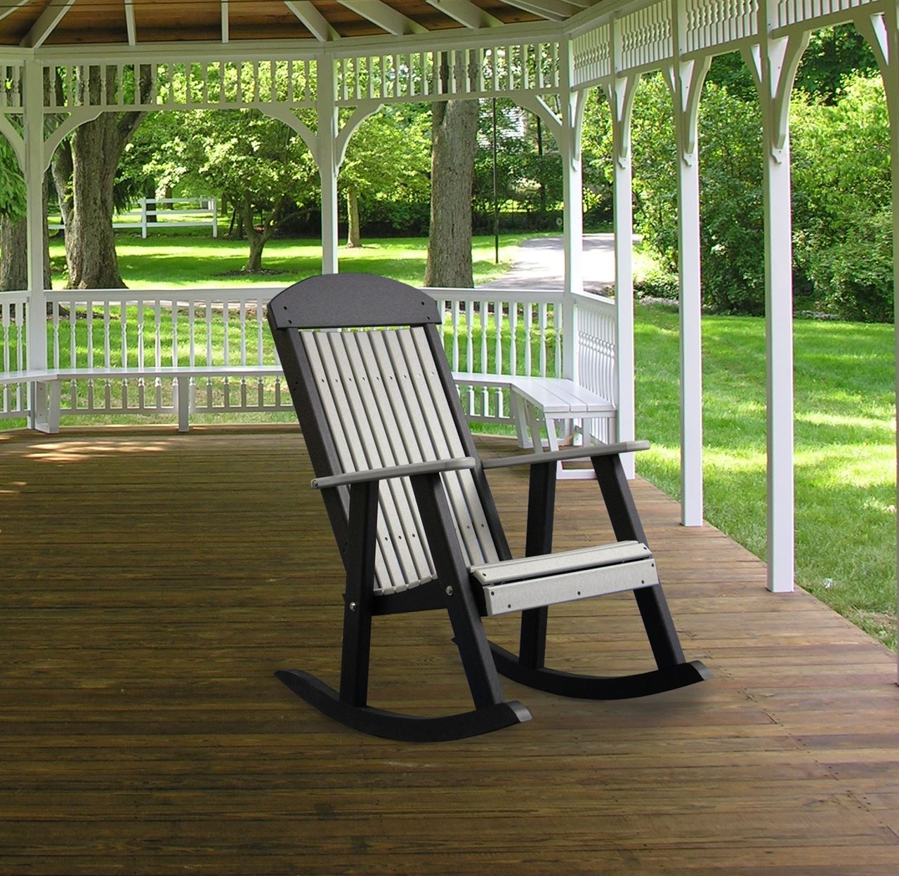 Vermont Teak Rocking Chair Cambridge Casual Frank Reenskaug Outdoor Throughout 2018 Rocking Chairs For Porch (View 15 of 15)