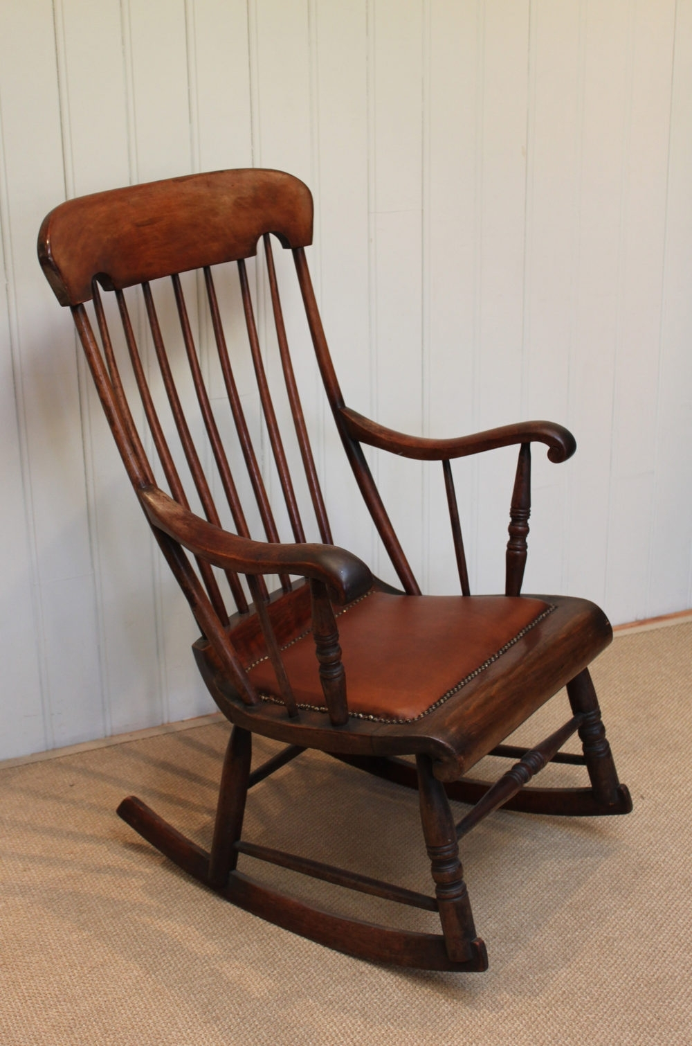 Victorian Fruitwood Rocking Chair – Antiques Atlas In Most Recent Victorian Rocking Chairs (View 9 of 15)
