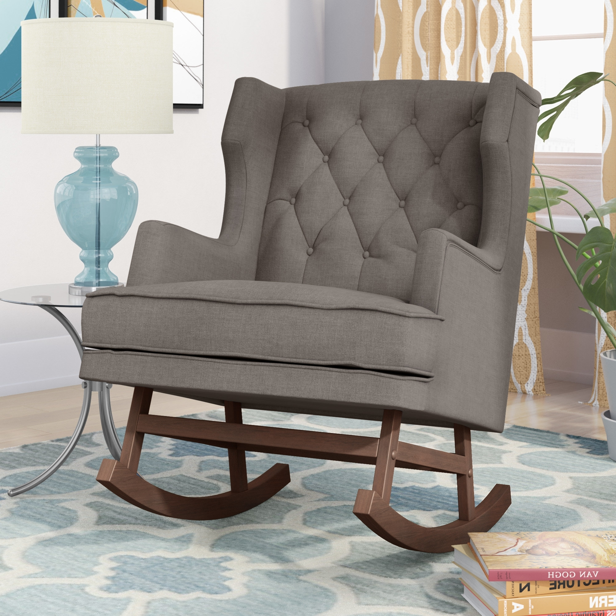 Wayfair Regarding Rocking Chairs For Living Room (View 14 of 15)