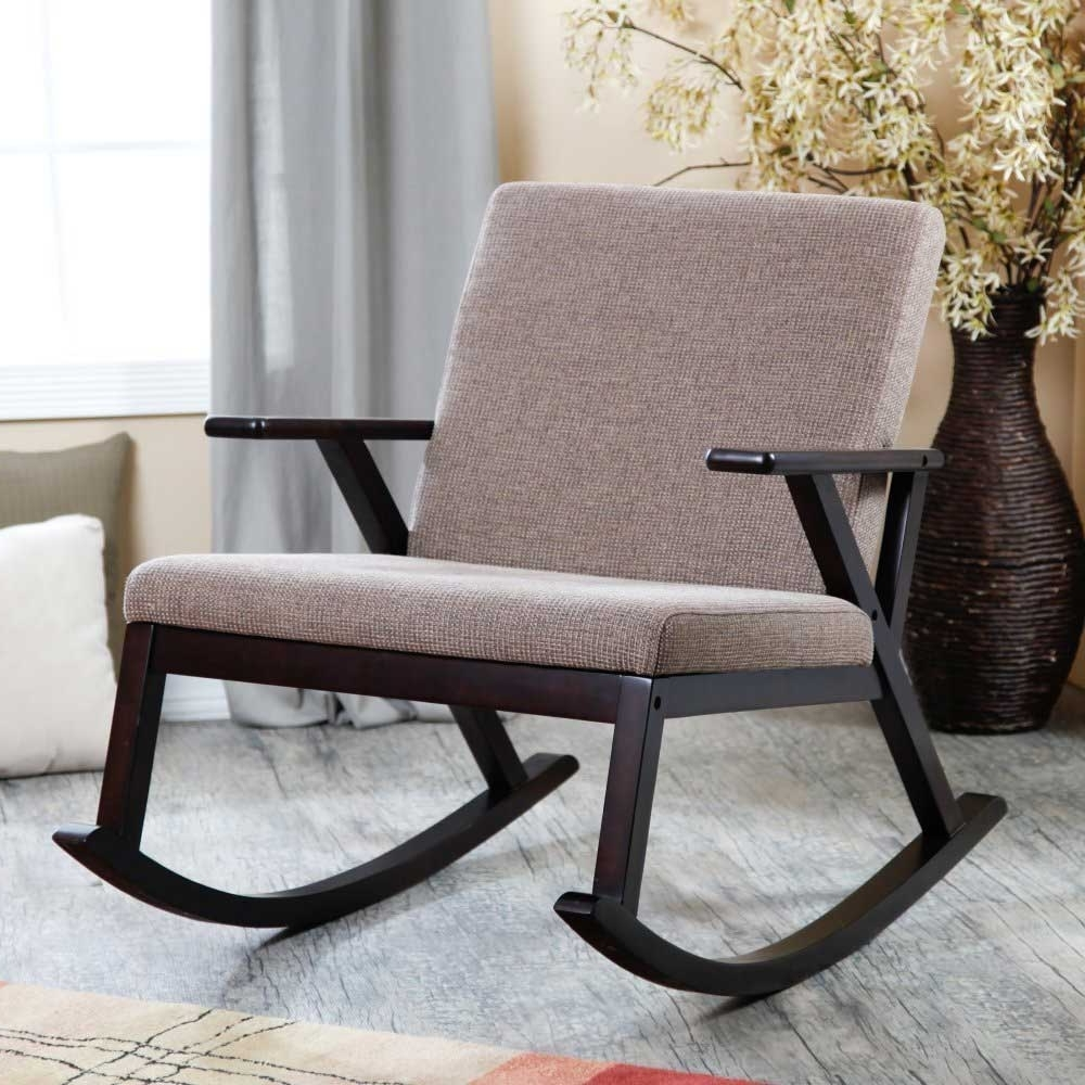 Well Known Amazon Rocking Chairs Pertaining To Rocking Chair Amazon – Taffette Designs : Outdoor Wood Rocking Chair (View 12 of 15)