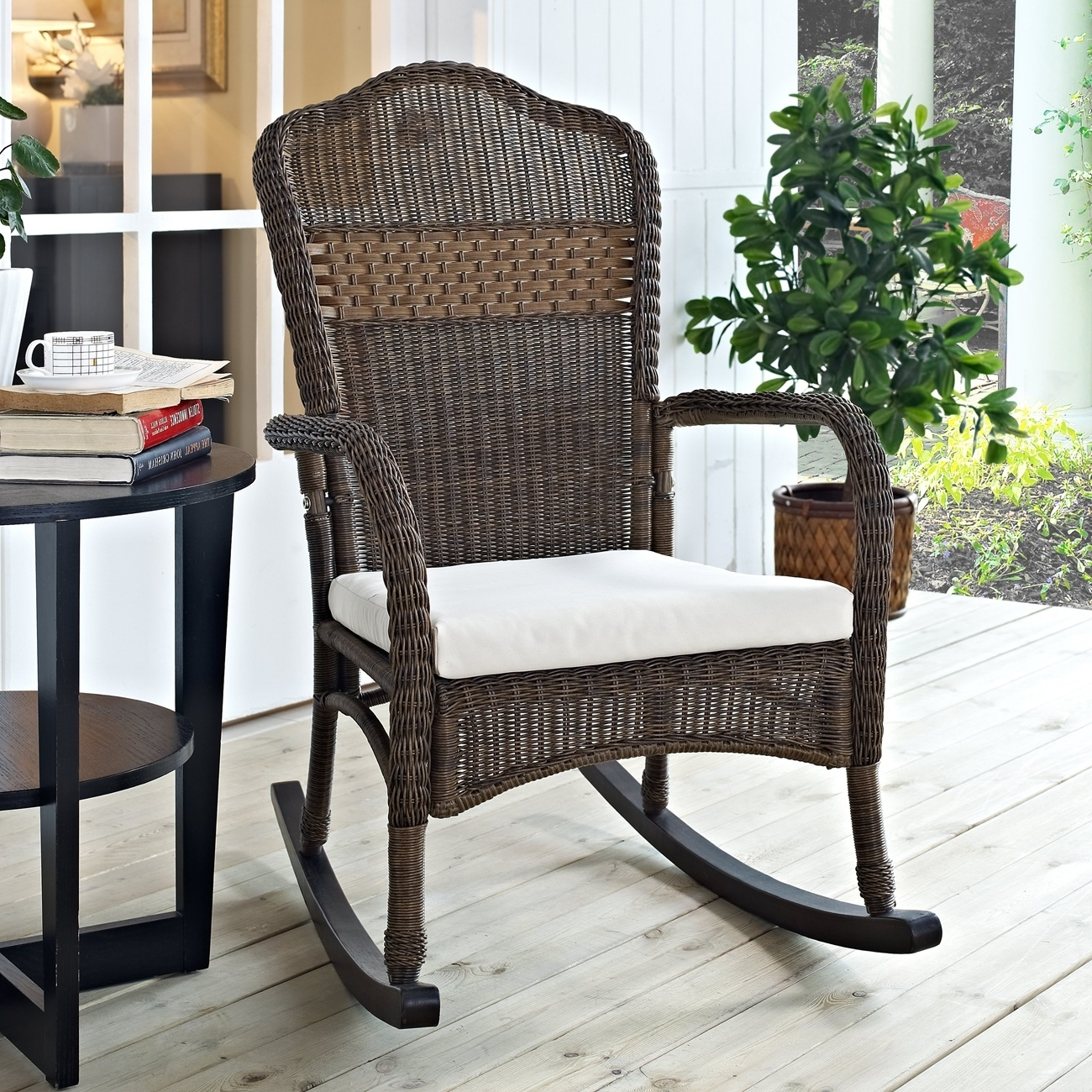 Well Known Awesome Patio Rocking Chair — Wilson Home Ideas : Choosing A Patio Regarding Padded Patio Rocking Chairs (View 15 of 15)