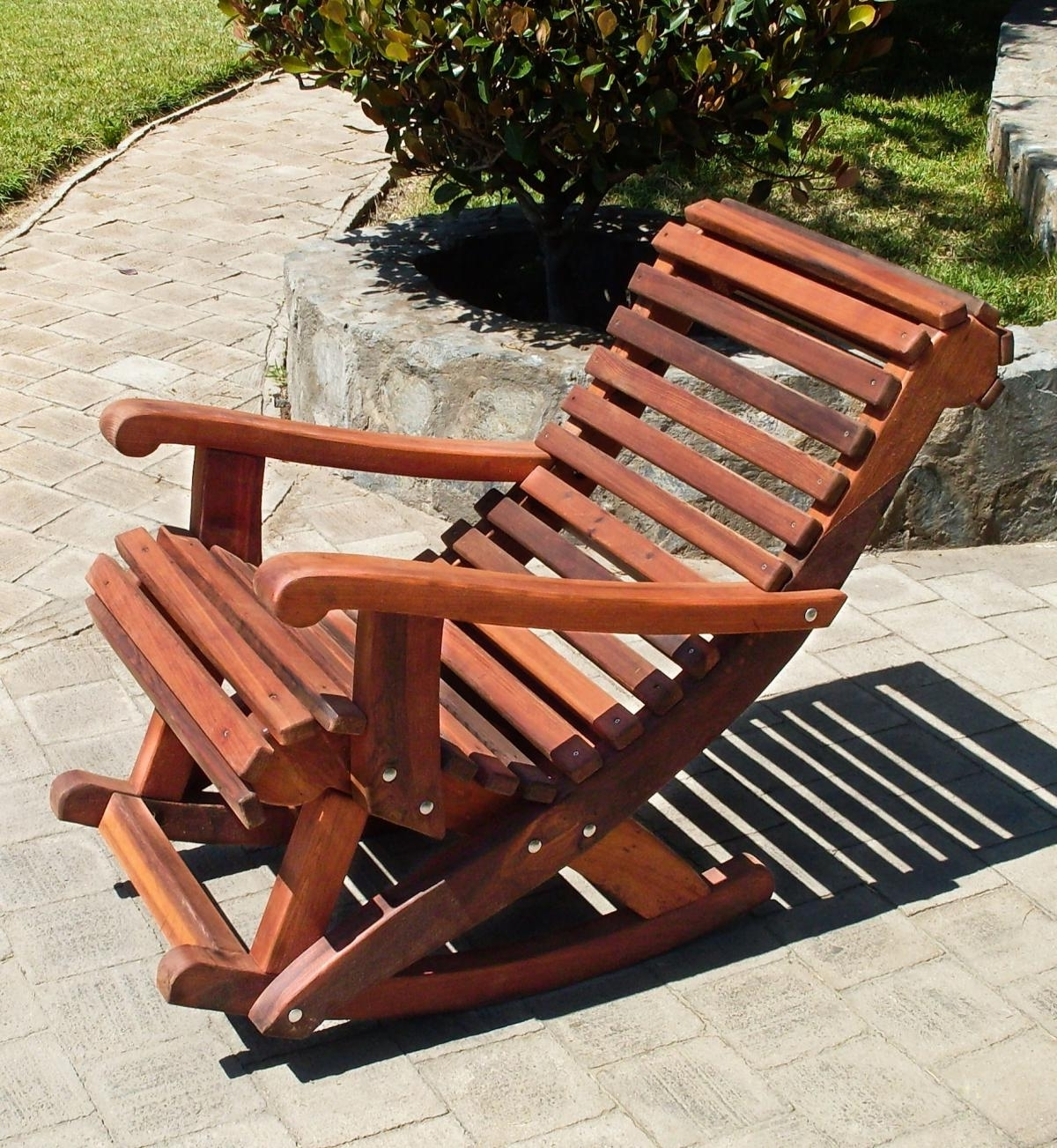 Well Known Cozy Outdoor Wooden Rocking Chairs : Pleasure Outdoor Wooden Rocking For Rocking Chair Outdoor Wooden (View 14 of 15)