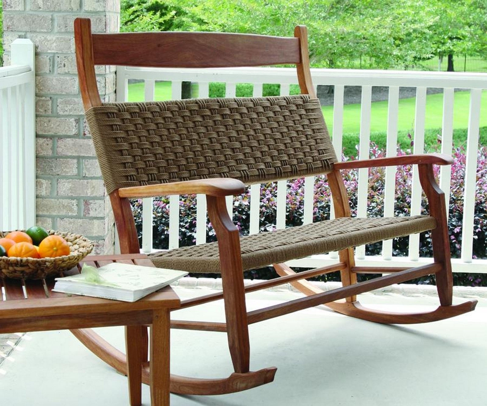 Well Known Extra Large Rocking Chairs For Small Patio Design With White Deck For Small Patio Rocking Chairs (View 14 of 15)