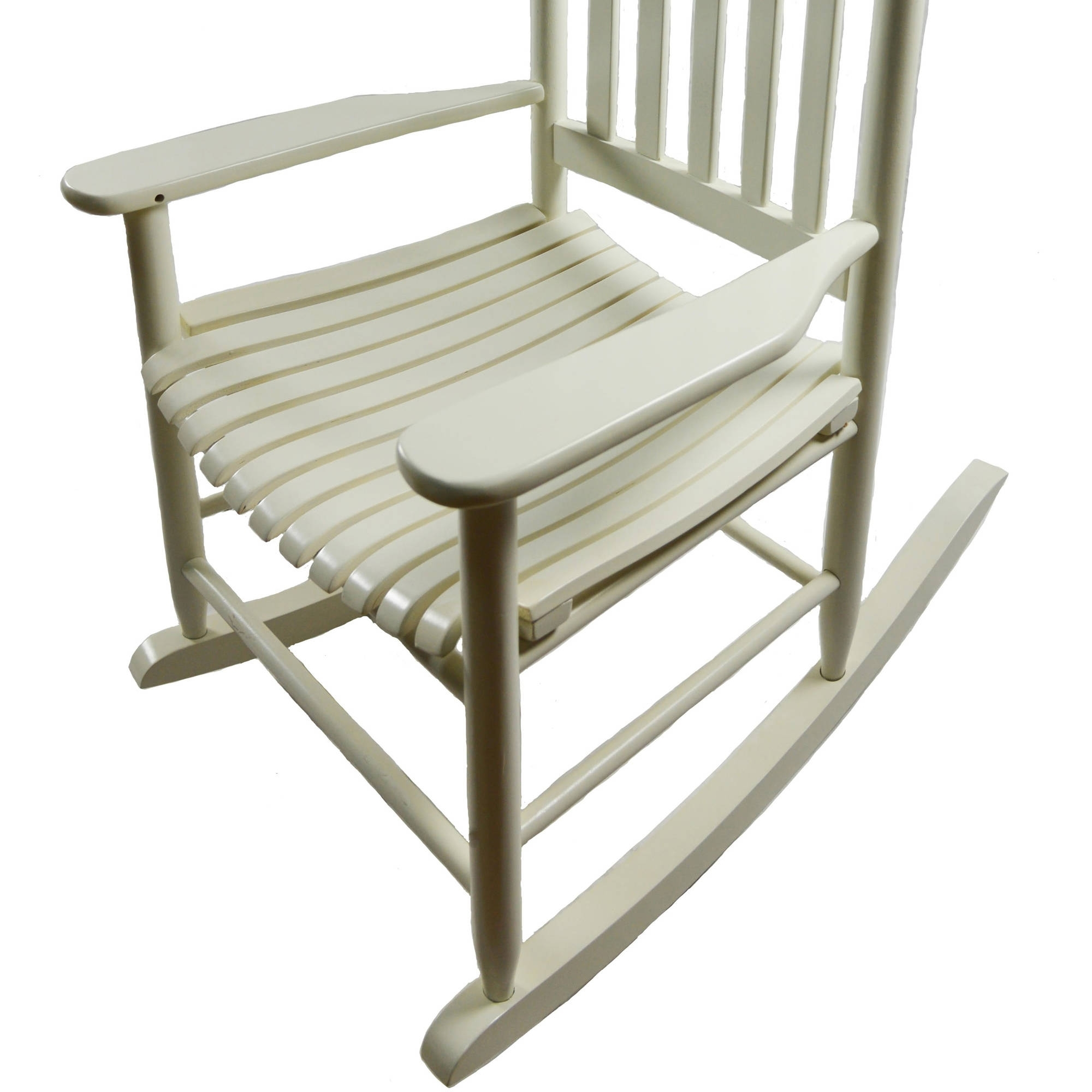 Well Known Mainstays Outdoor Wood Rocking Chair – Walmart Throughout Rocking Chairs At Walmart (View 1 of 15)