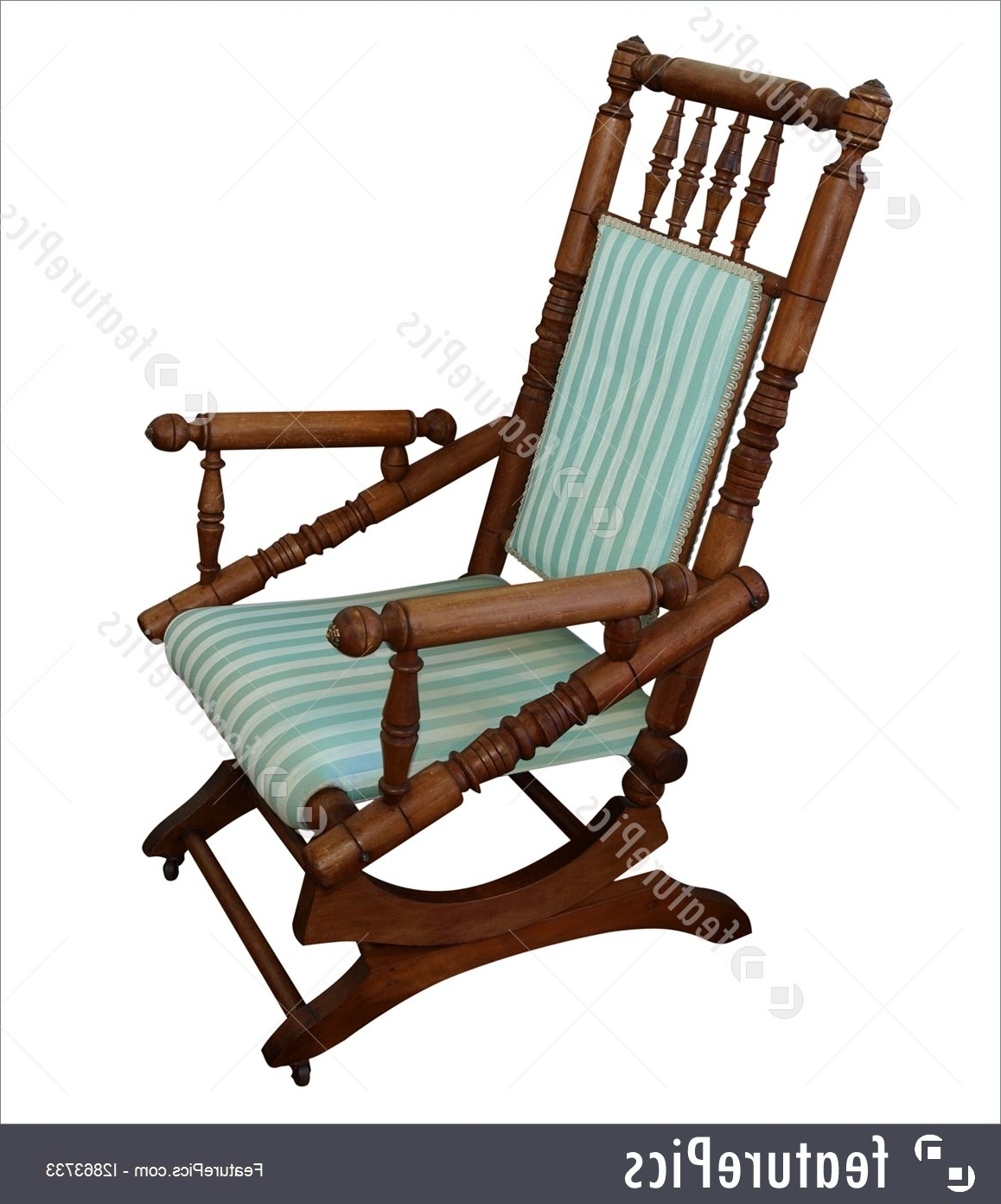 Well Known Picture Of Antique Rocking Chair Pertaining To Antique Rocking Chairs (View 2 of 15)
