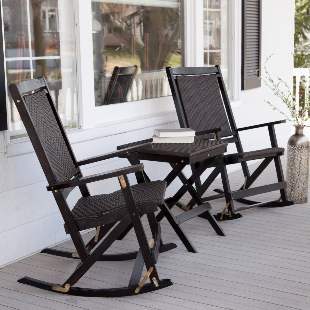 Well Known Resin Outdoor Rocking Chairs Lovely Patio Chairs Plastic Muskoka Throughout Outdoor Rocking Chairs With Table (View 6 of 15)