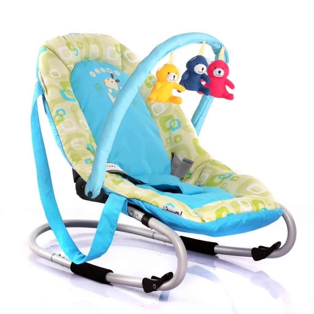 Well Known Rocking Chairs For Babies Regarding Furniture: Terrific Green Dino Rocking Chair For Baby For Baby (View 6 of 15)