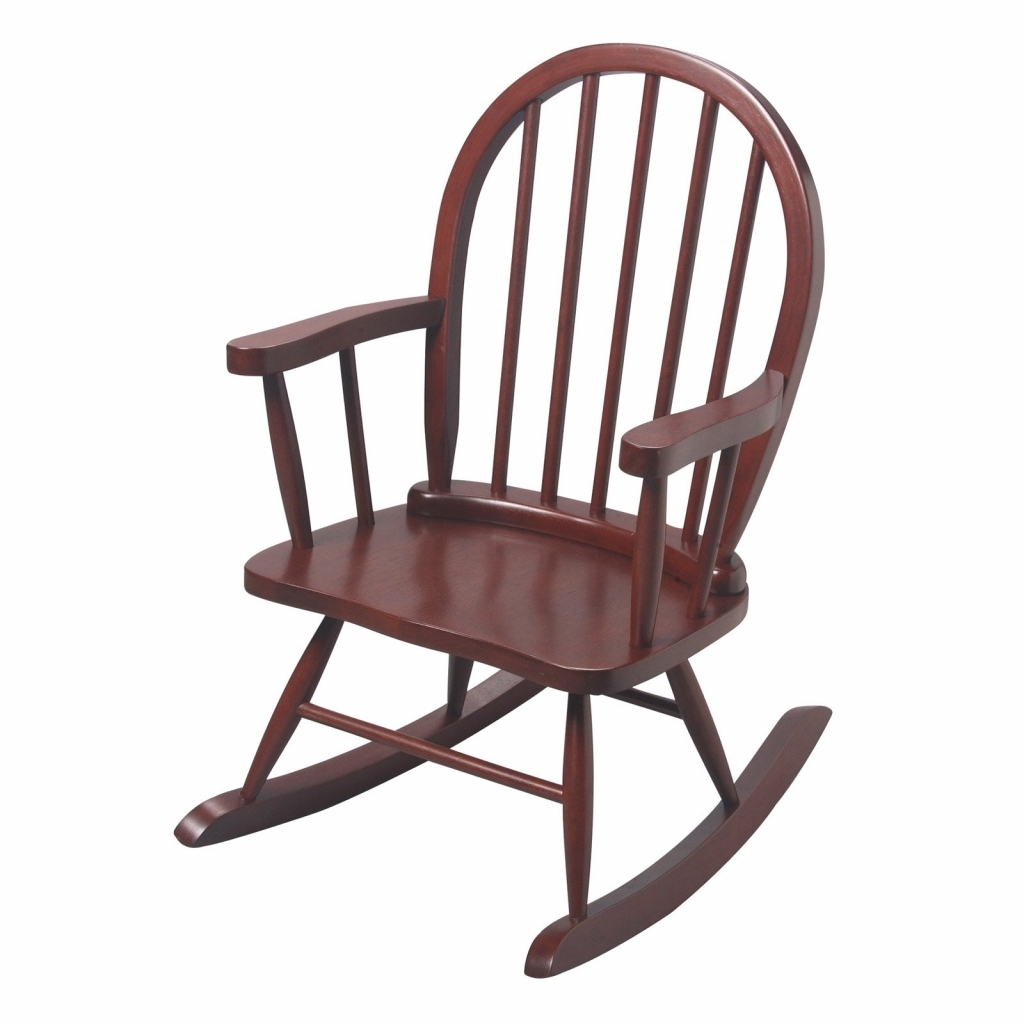 Well Known Rocking Chairs For Toddlers In Furniture: Wooden Rocking Chairs For Toddlers Luxury T Mark Windsor (View 3 of 15)