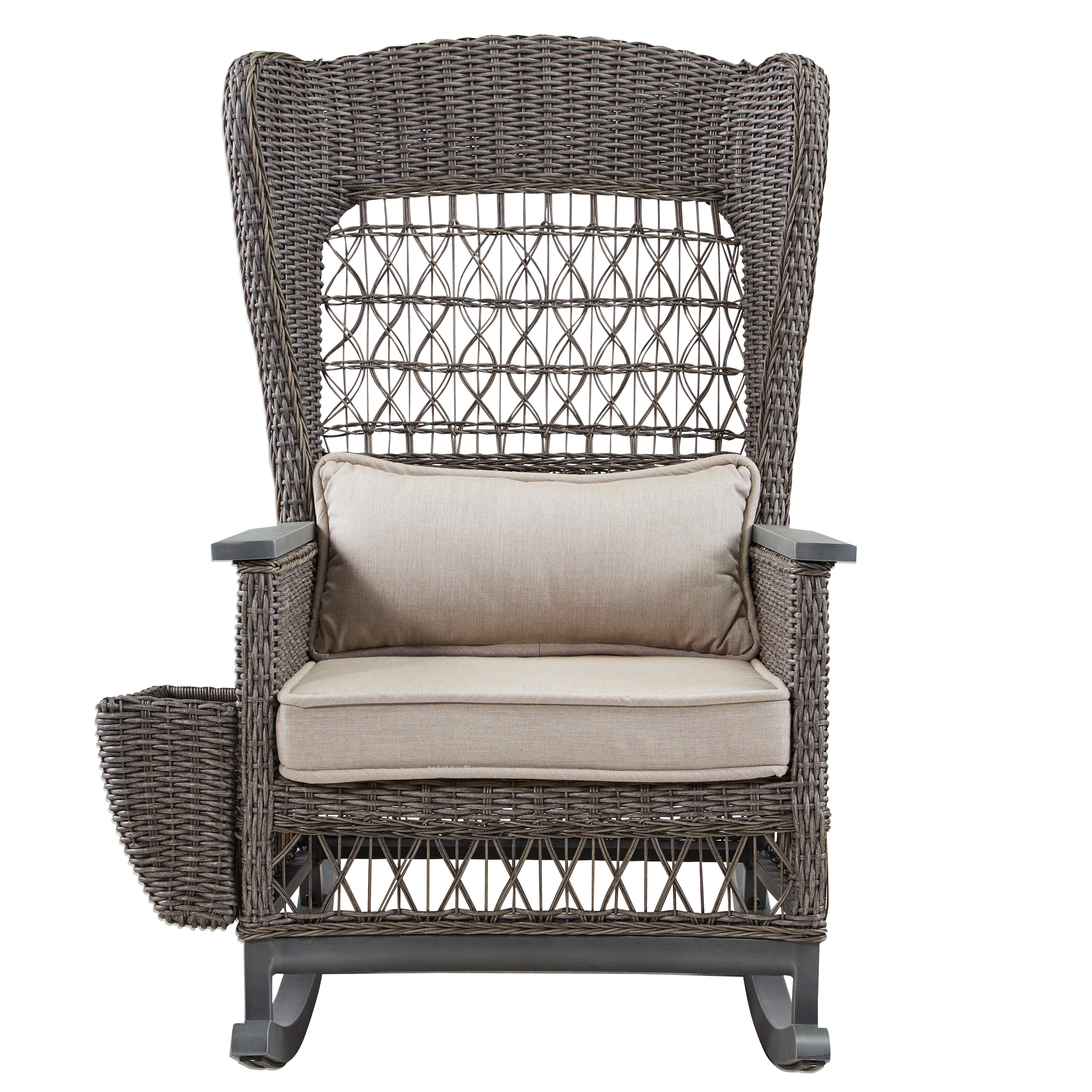 Well Known Rocking Chairs With Cushions Pertaining To Paula Deen Home Dogwood Rocking Chair With Cushions (View 15 of 15)