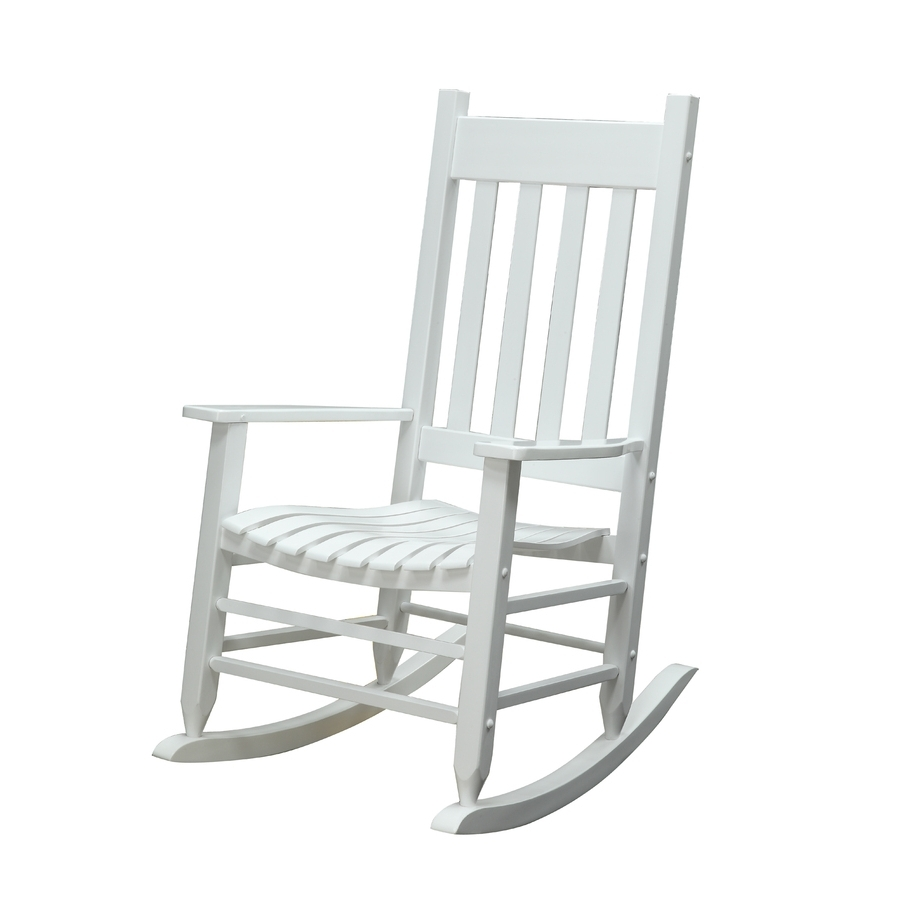 Well Known Shop Garden Treasures Patio Rocking Chair At Lowes Pertaining To Rocking Chairs At Lowes (View 3 of 15)
