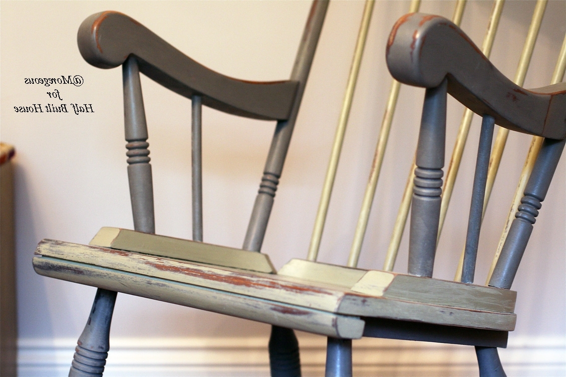 Well Known Upcycled Rocking Chairs Throughout Hbh Eastbourne: A Spot Of Child Friendly Designing & Upcycling With (View 8 of 15)