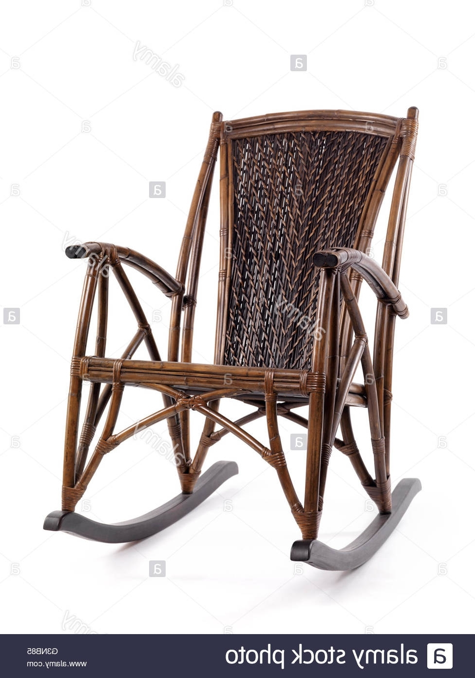 Well Liked Antique Wicker Rocking Chairs With Springs Intended For Antique Rocking Chair Stock Photos & Antique Rocking Chair Stock (View 14 of 15)