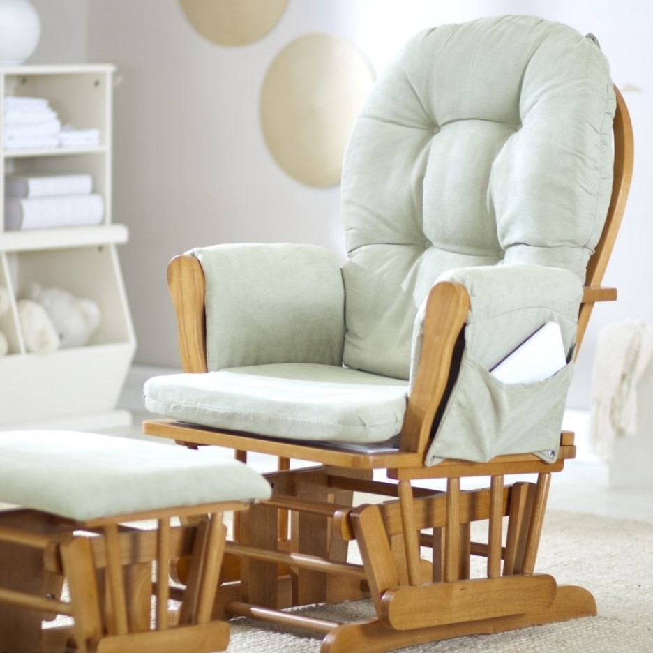 Well Liked Rocking Chairs For Baby Room Regarding Baby Nursery Cozy Glider Rocking Chair Fr Baby Nursery With Teak (View 2 of 15)