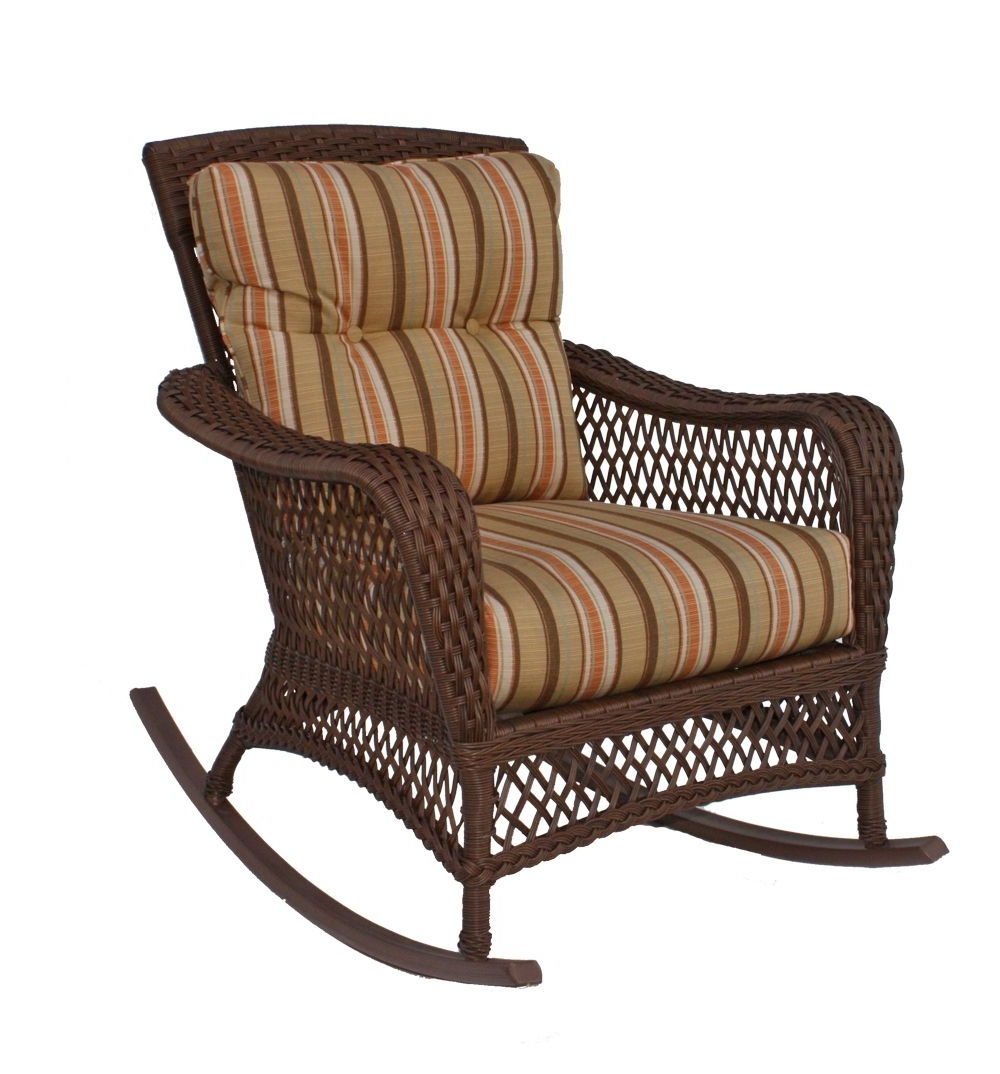 Well Liked Vinyl Wicker Rocker: Savannah Collection Pinnedwickerparadise With Outdoor Vinyl Rocking Chairs (View 14 of 15)