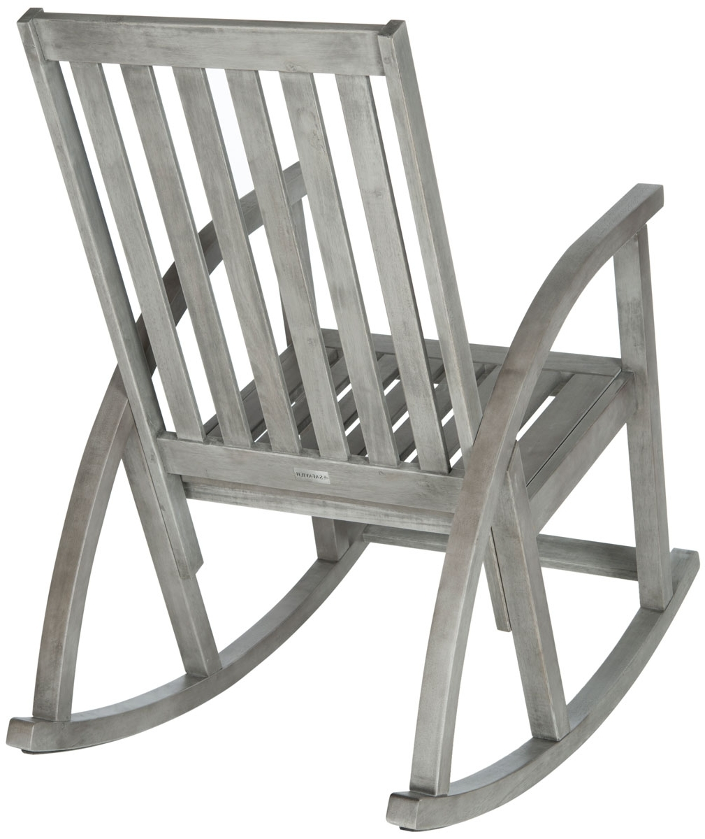 Well Liked Zen Rocking Chairs Within Outdoor Rocking Chairs Furniture Safavieh Back Gray Chair Zen Wooden (View 12 of 15)