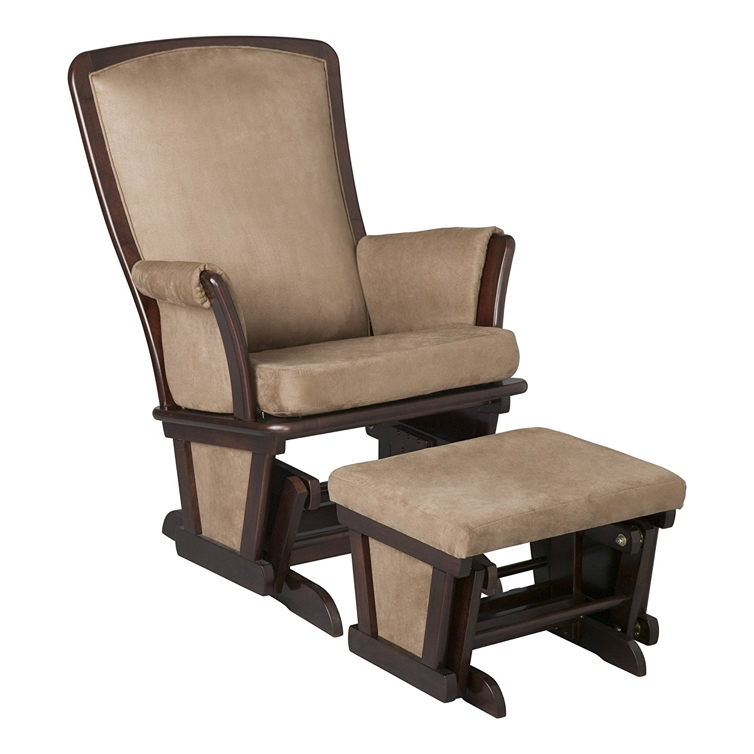 Wicker Rocking Chair High Back Upholstered Rocking Chair (View 15 of 15)