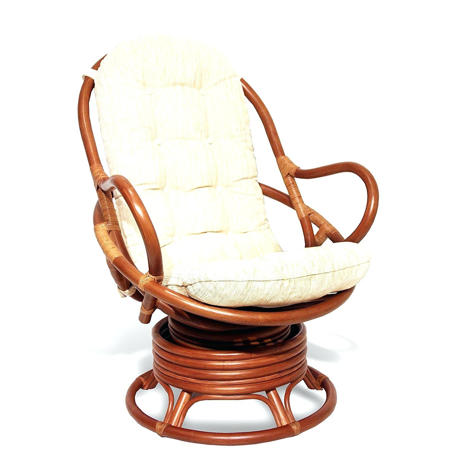Wicker Rocking Chairs With Cushions In Newest Wicker Rocking Chair Cushion Set Ebay Antique Outdoor Recliner (View 2 of 15)