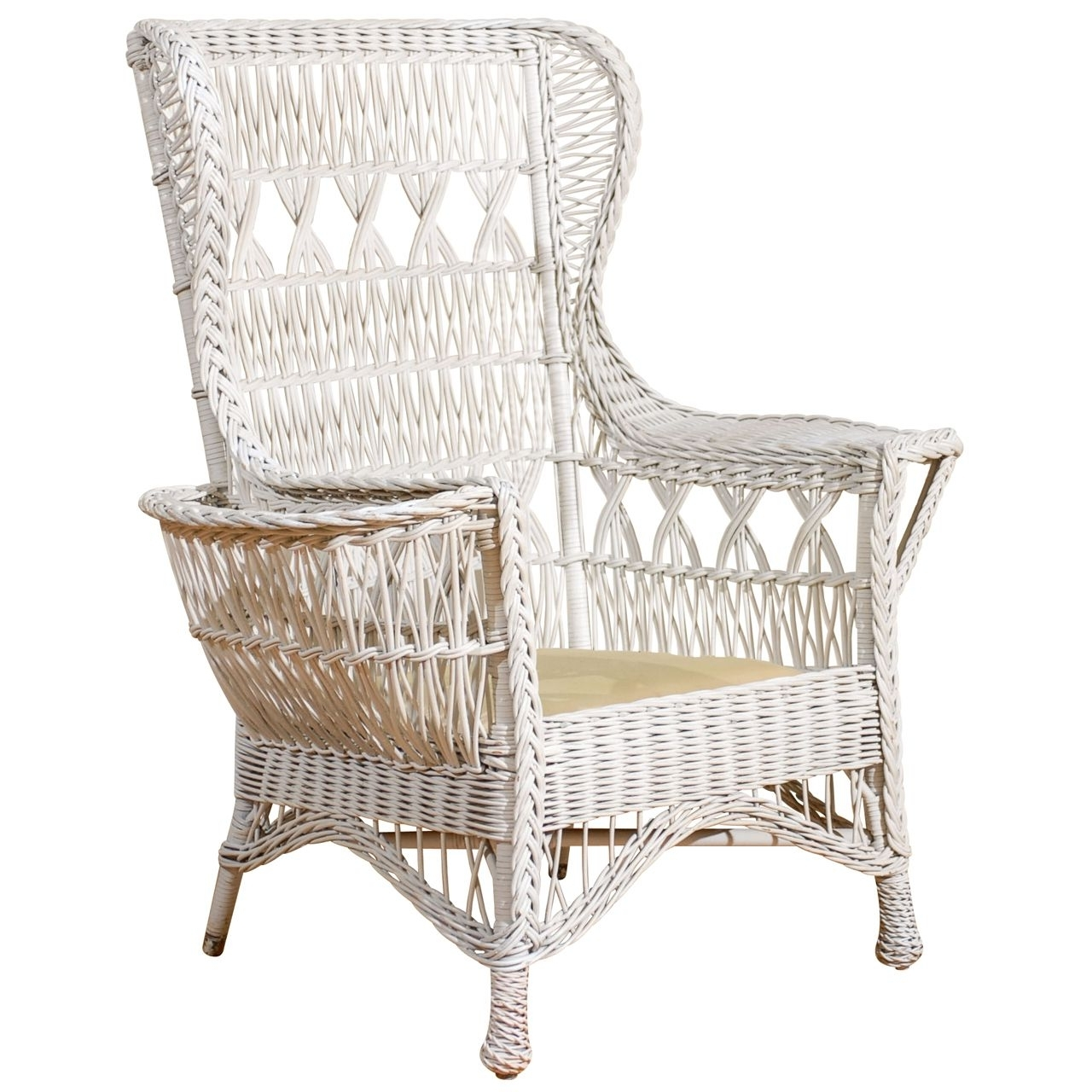 Wicker With Regard To 2017 Wicker Rocking Chair With Magazine Holder (View 5 of 15)