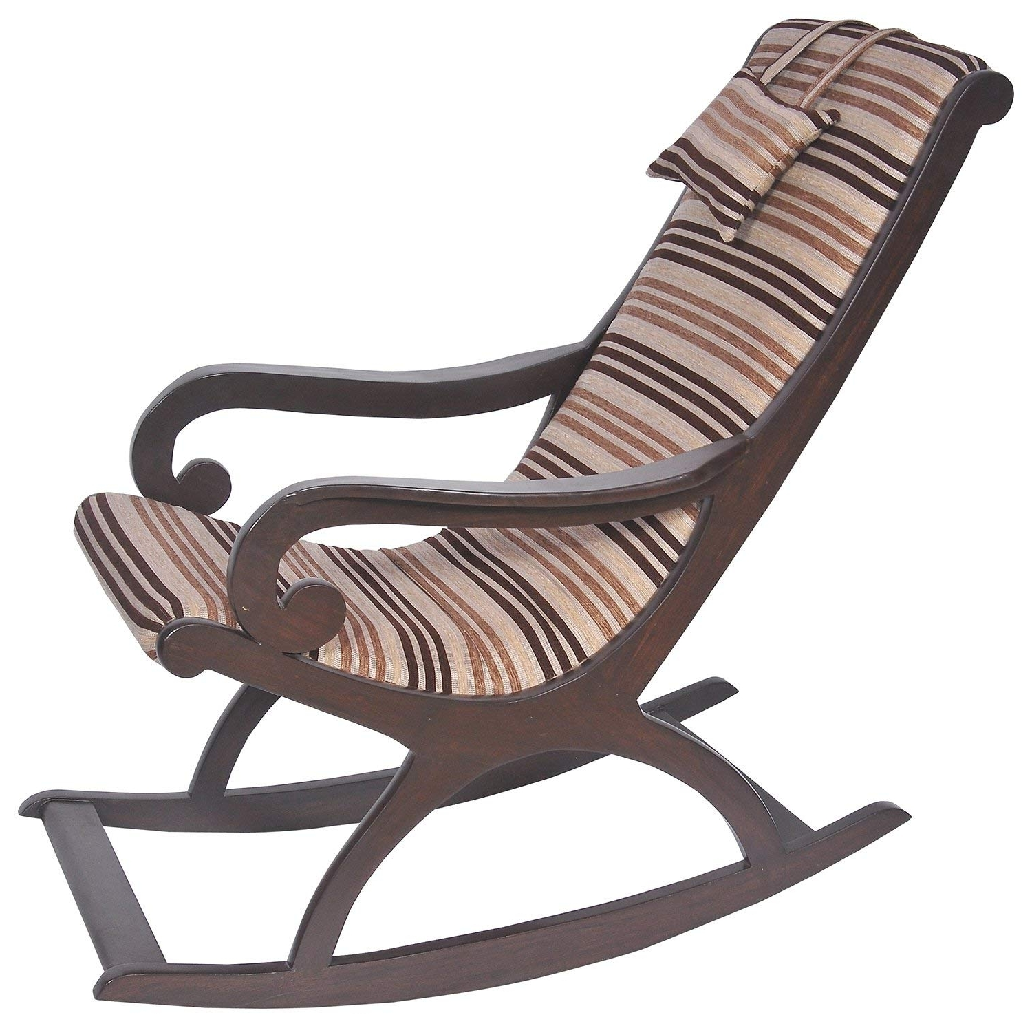 Widely Used Rocking Chairs Pertaining To Pansy Rocking Chair (Brown): Amazon (View 4 of 15)