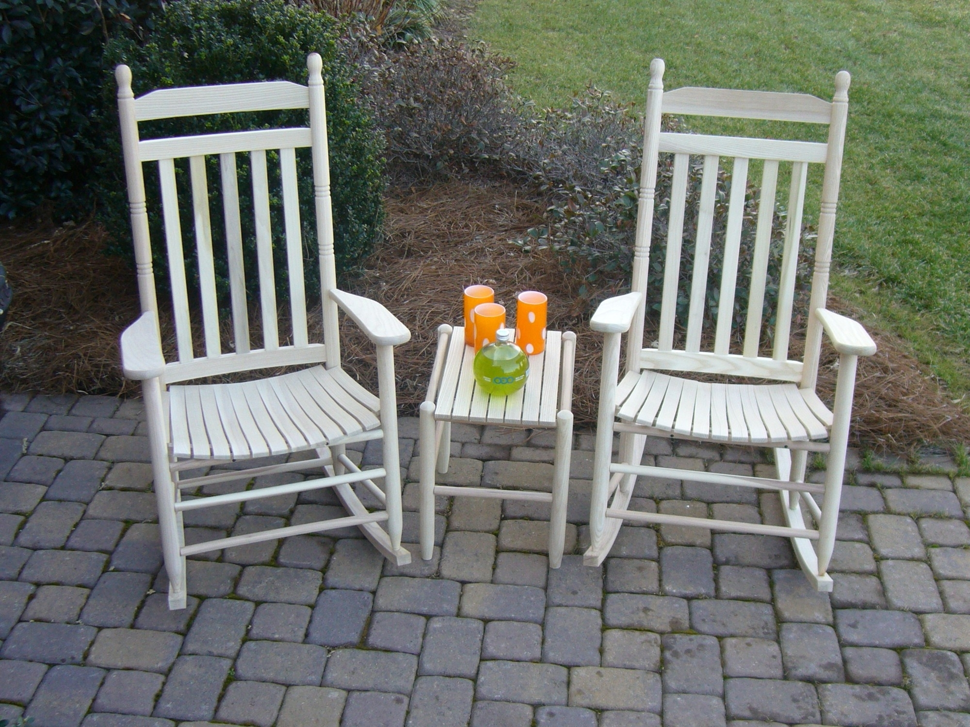 Wooden Outdoor Rocking Chairs For Modern Dixie Seating Standard Within Newest Patio Rocking Chairs And Table (View 15 of 15)