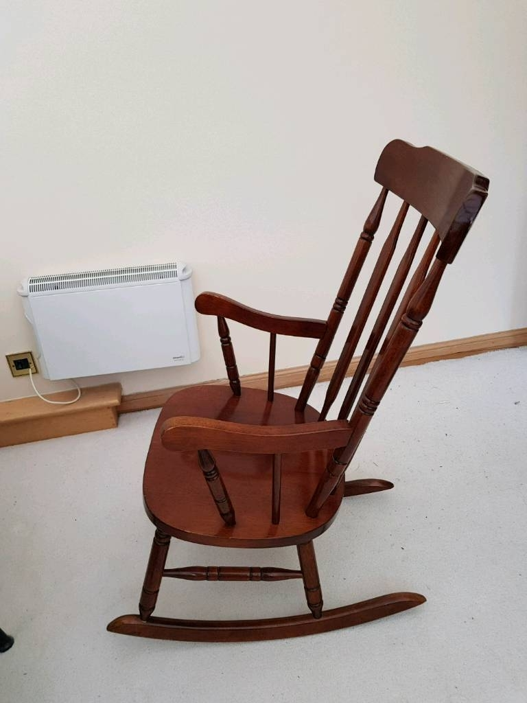 Wooden Rocking Chair (View 15 of 15)