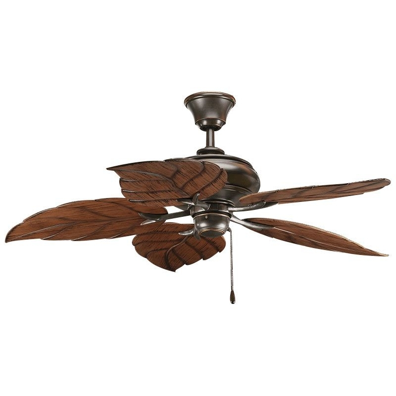 20 Inch Outdoor Ceiling Fans With Light Pertaining To Well Known Progress Lighting P2526 20 Indoor/outdoor Ceiling Fan 52 Inch  (View 3 of 15)