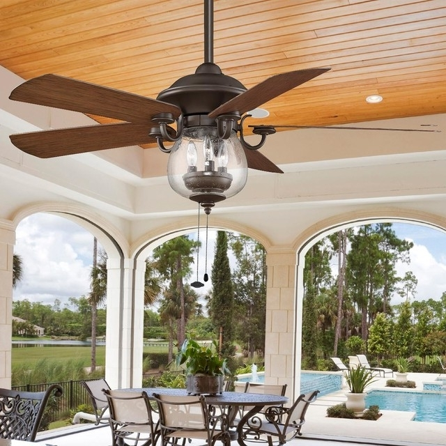 2017 12 Ceiling Fans With Lights For Modern Home Interior (View 6 of 15)